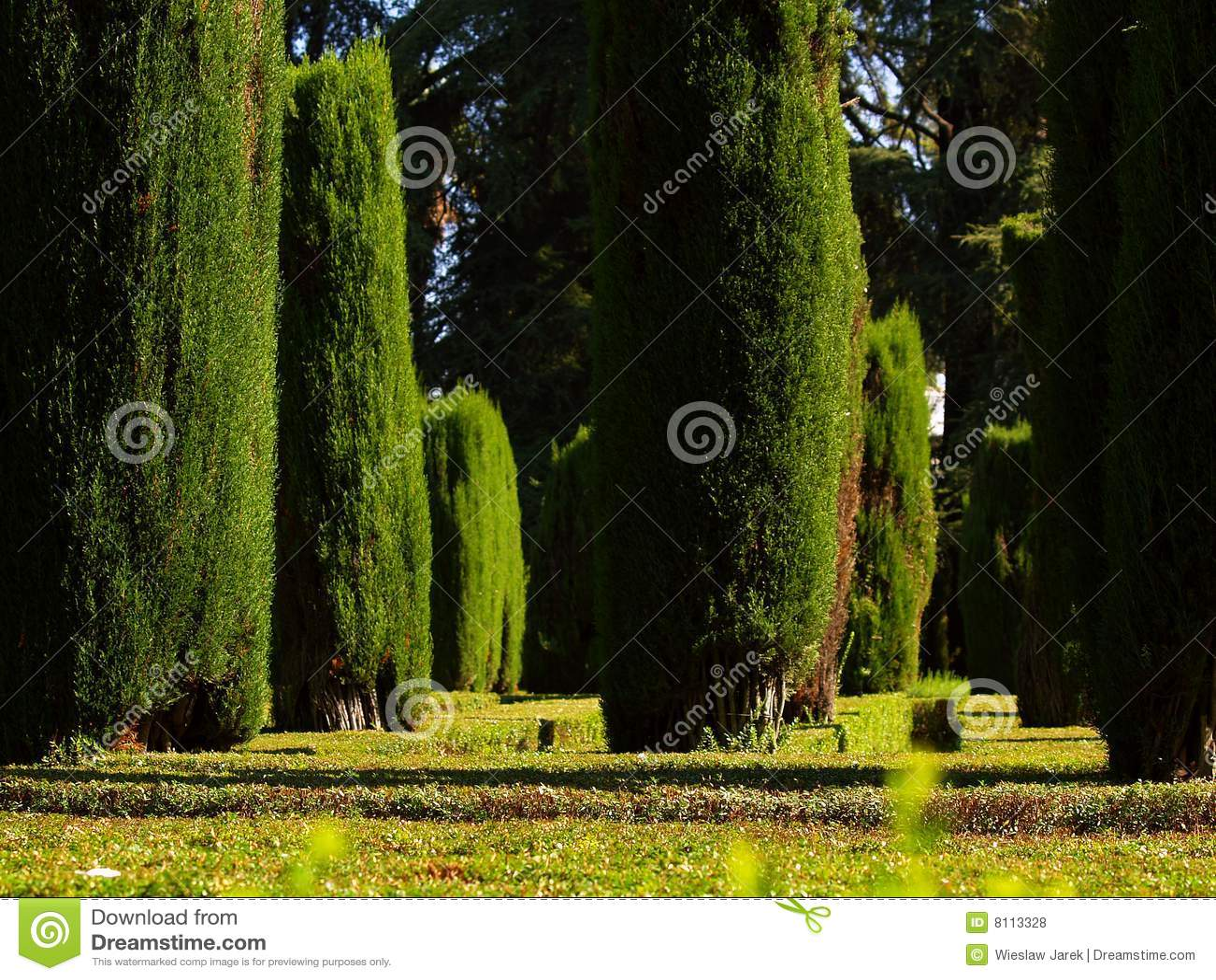 Alcazar ogrodowy Sevilla