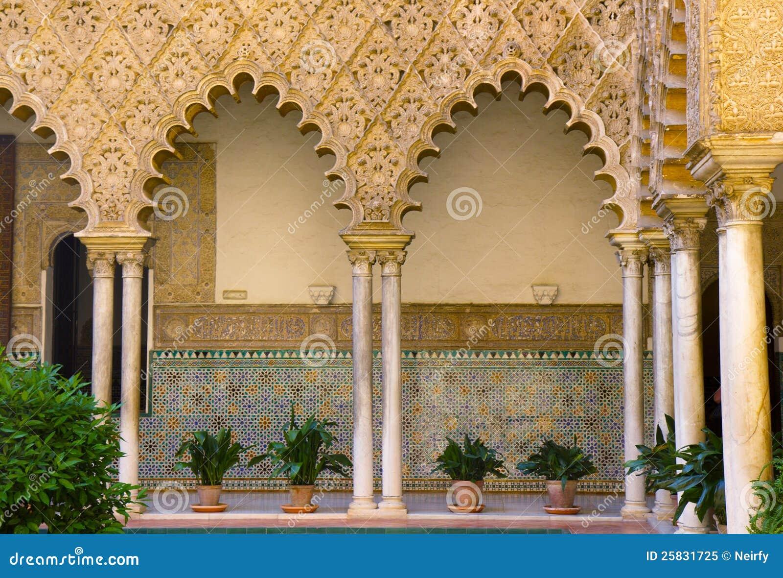 Alcazar réel (palais royal), Séville, Espagne