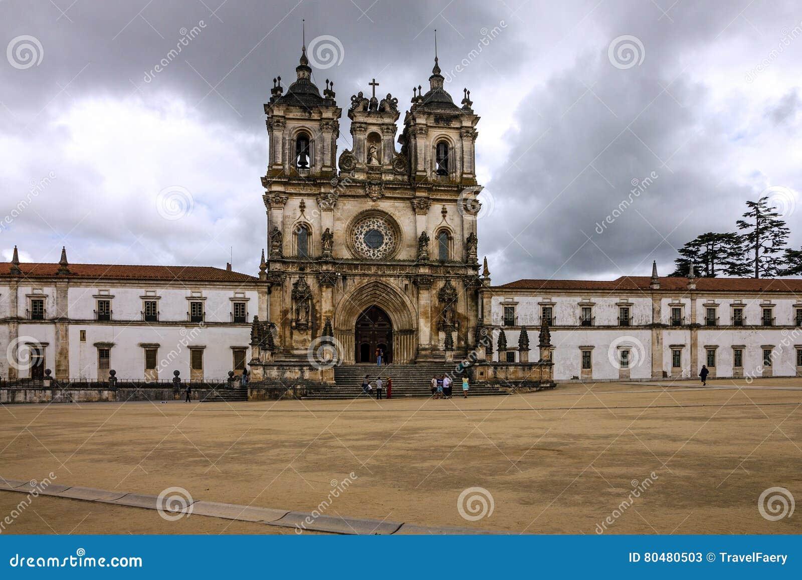 Alcobaca Medieval Roman Catholic Monastery, Portugal