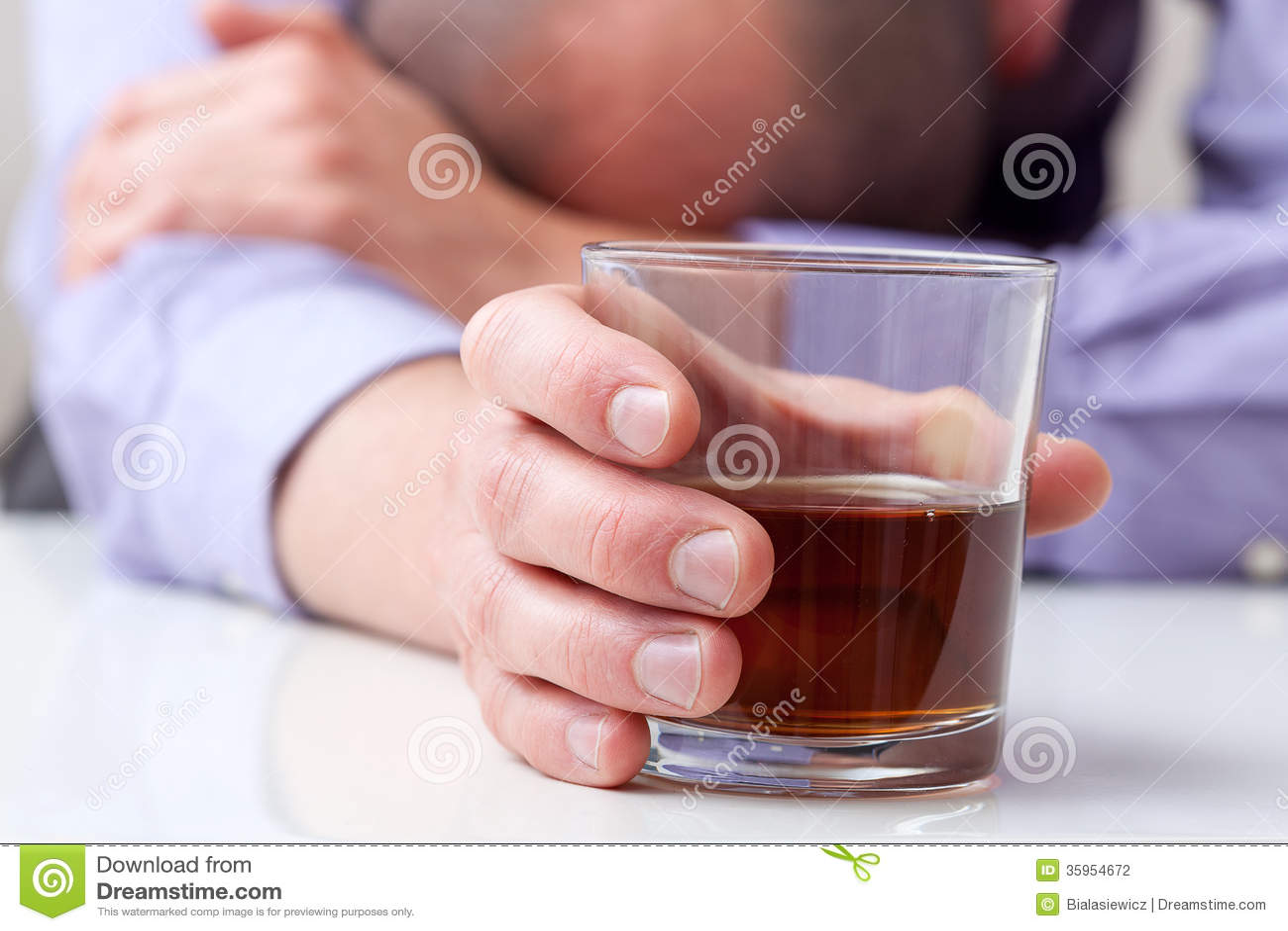 Alcohólico deprimido