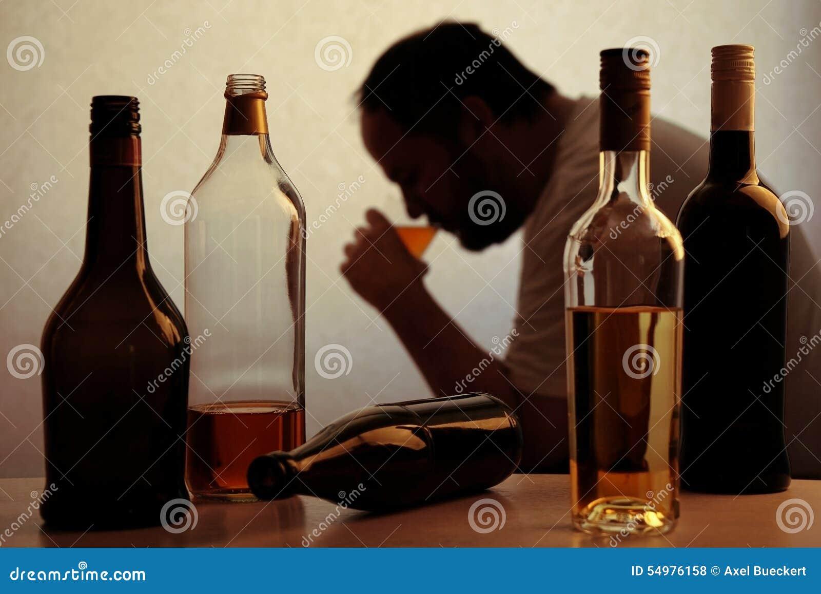 Alcohol het drinken probleem