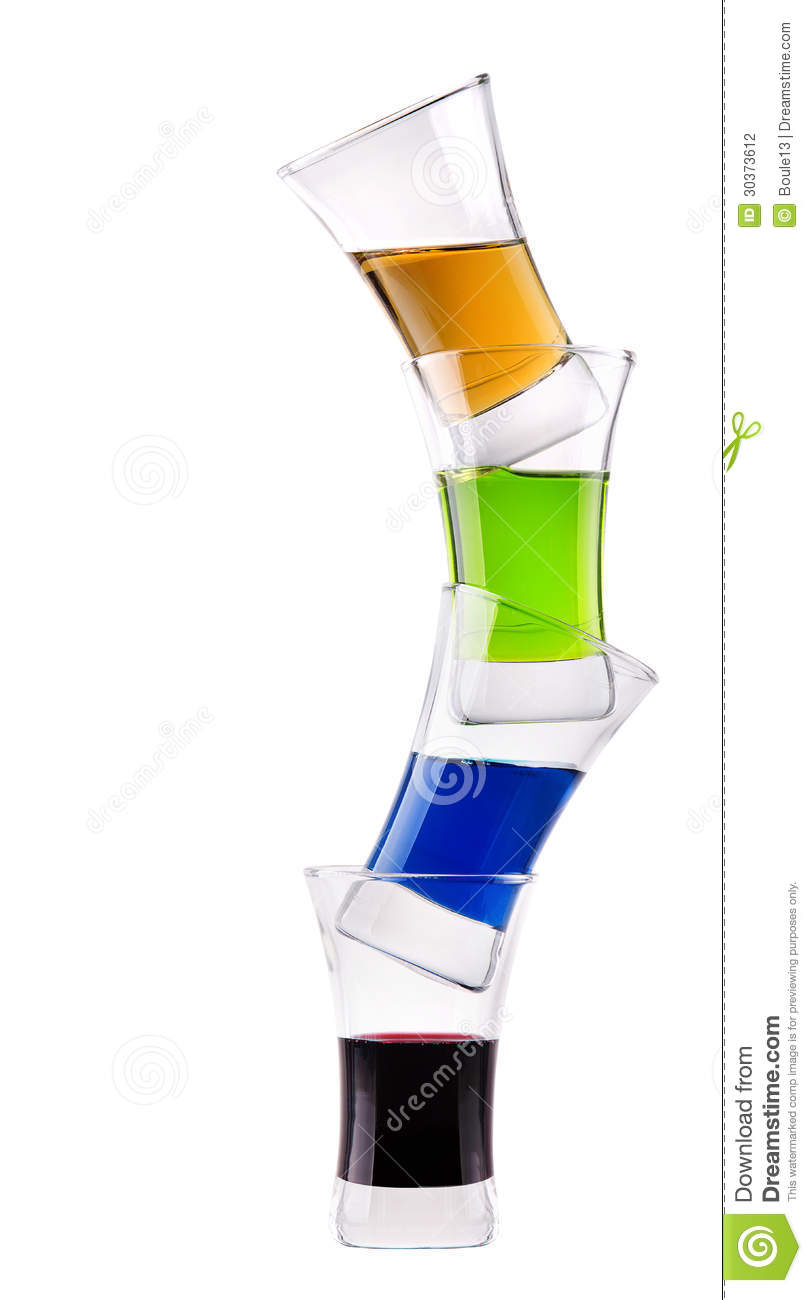 Alcoholic Drink Stack