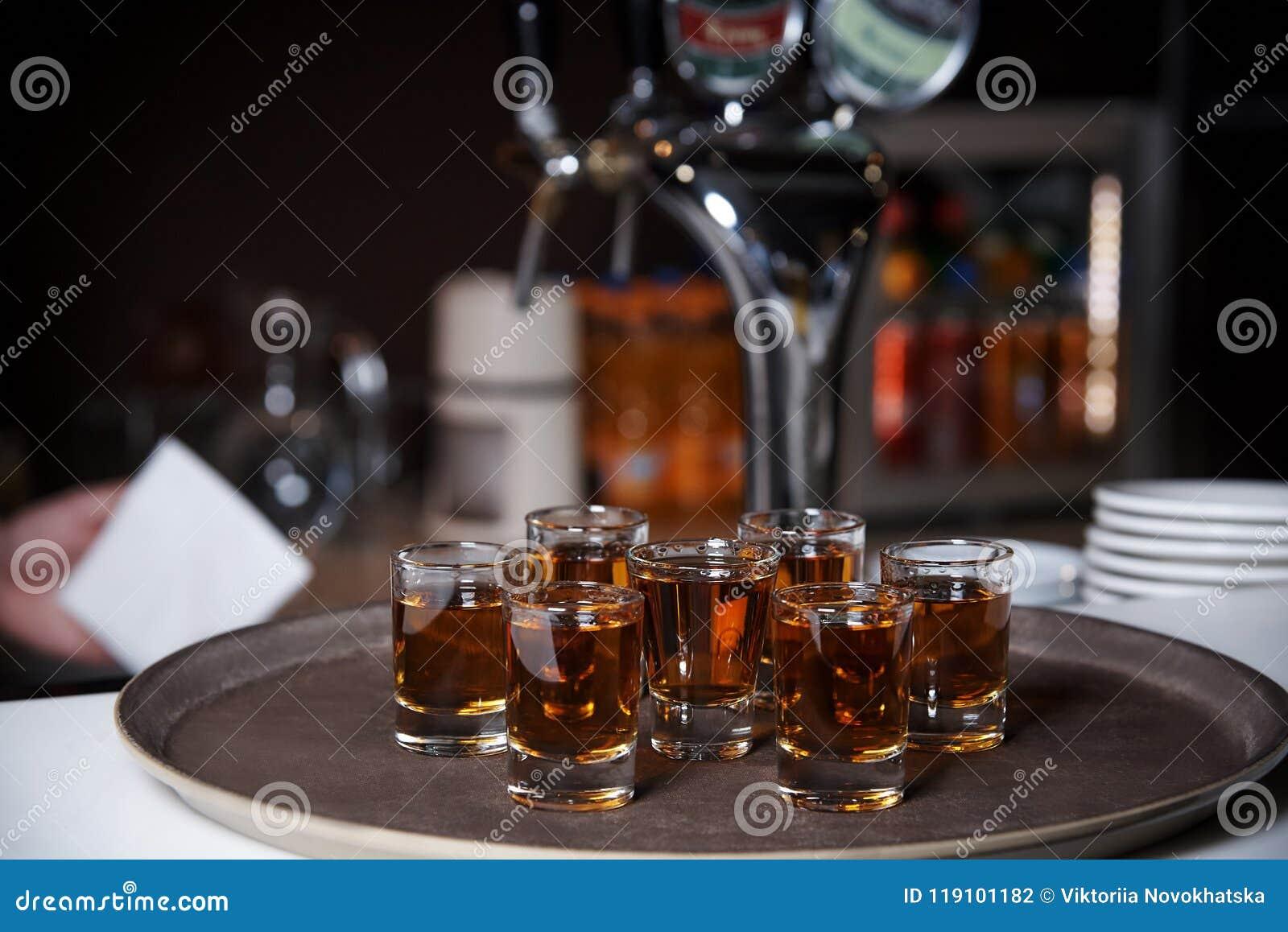 Alcoholische schoten