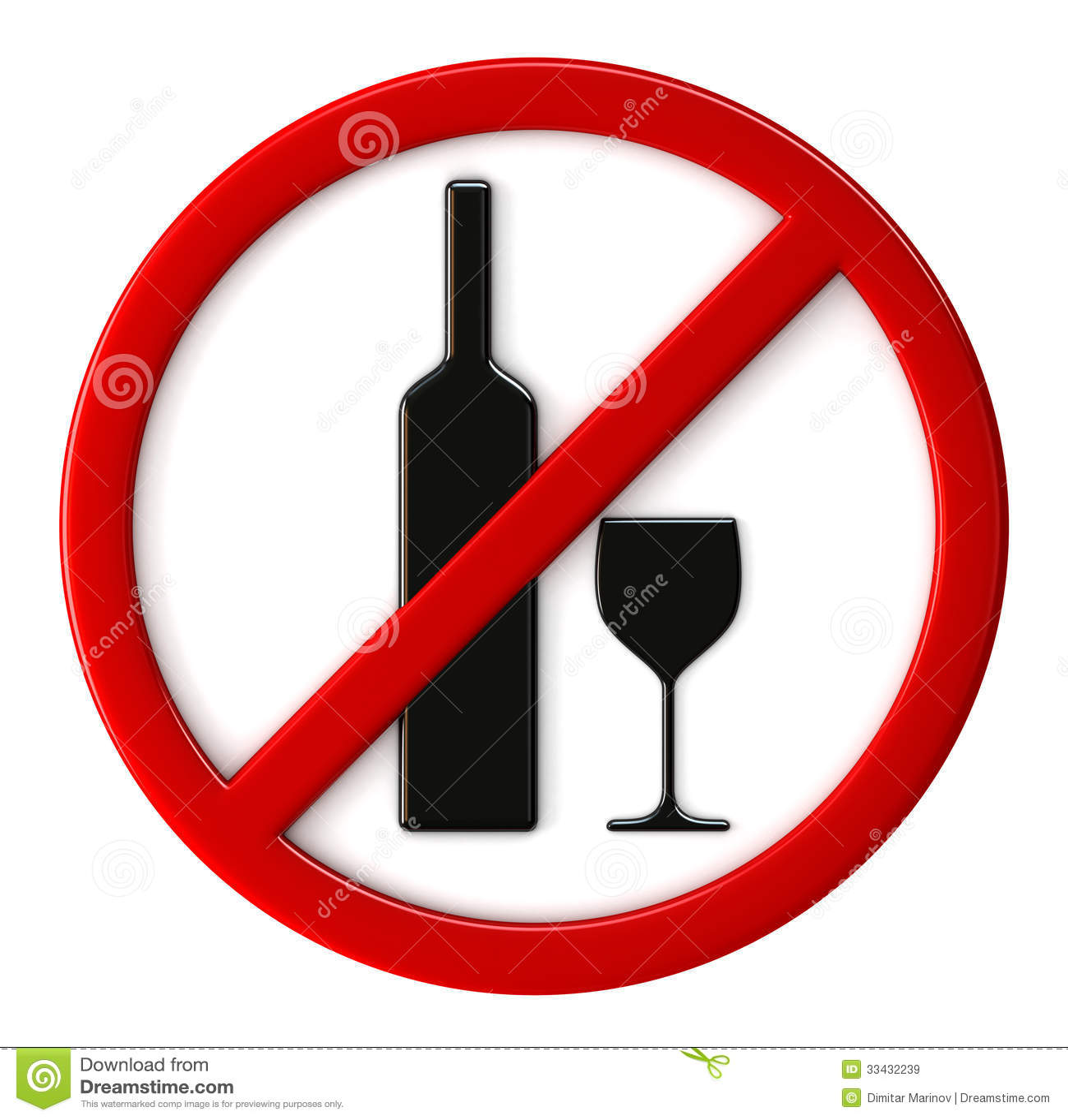alcool non permis images libres de droits image 33432239. Black Bedroom Furniture Sets. Home Design Ideas