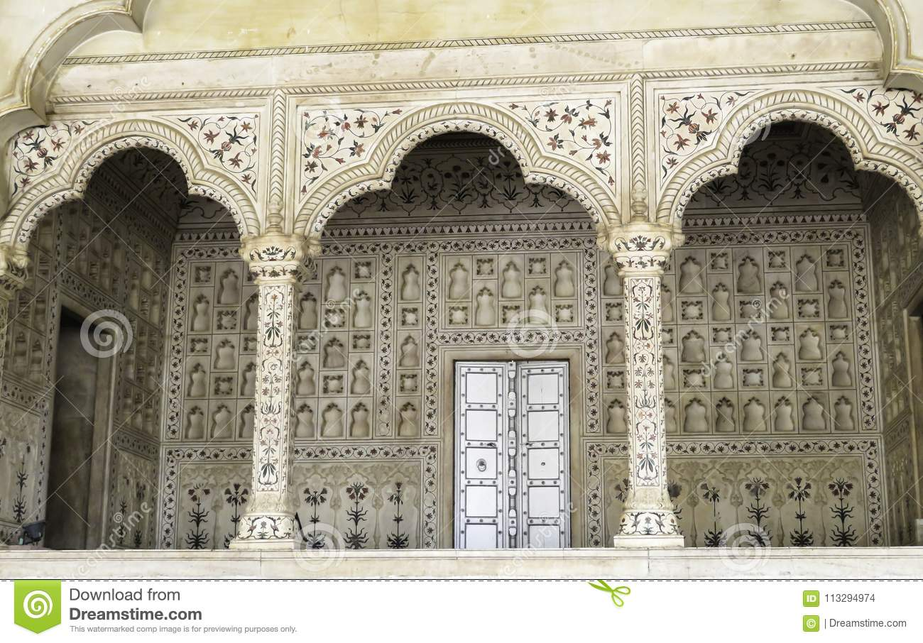 Fantastic Stonework With Fine Detail.