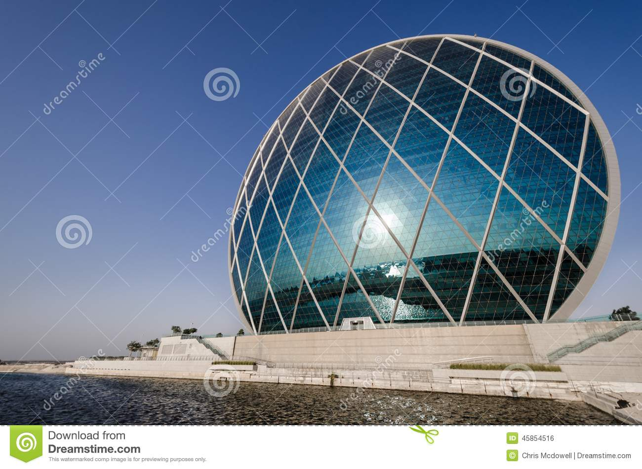 Aldar hq modern architecture abu dhabi editorial photo for Architectural design companies in abu dhabi
