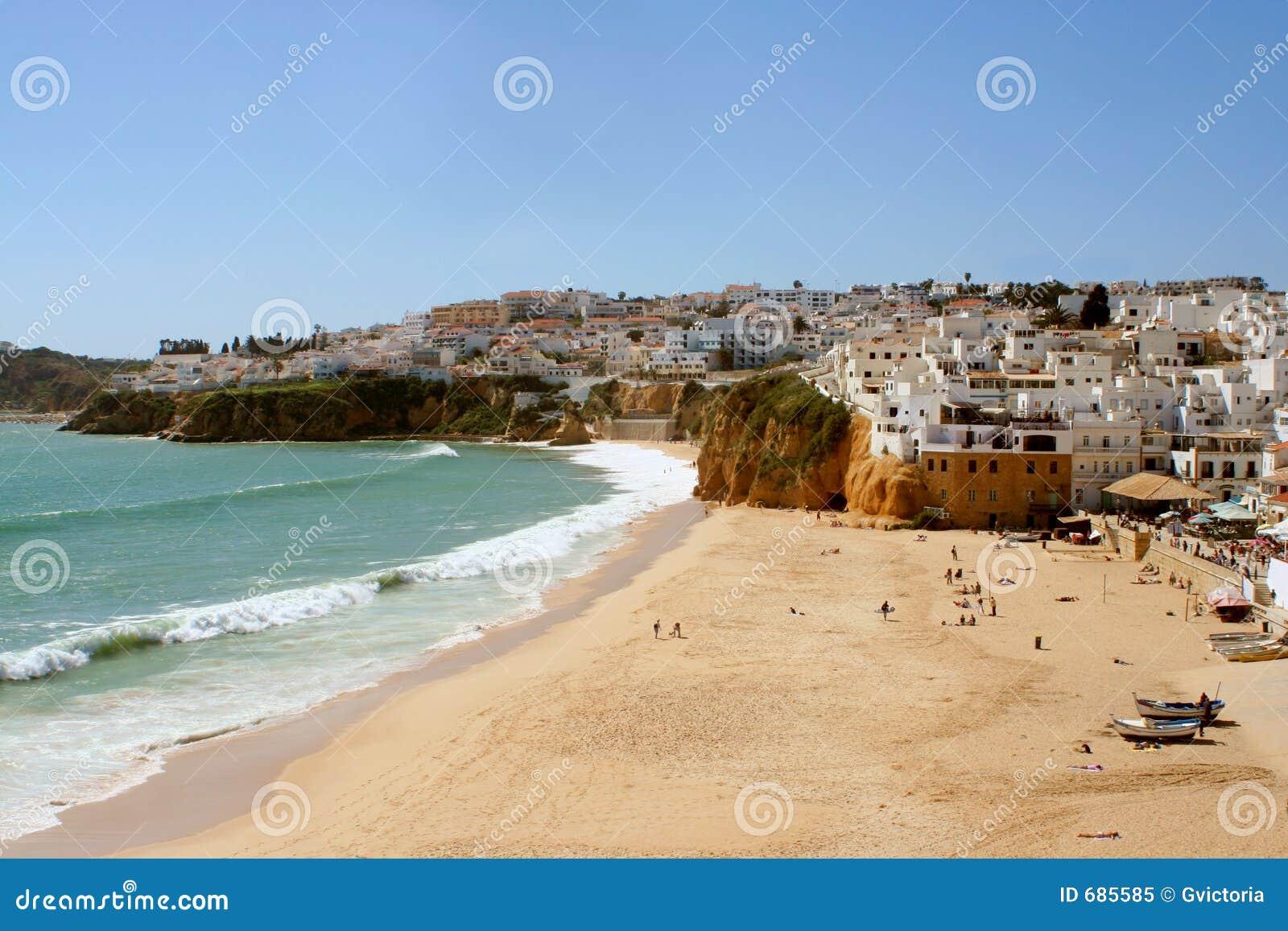 Aldea de la playa