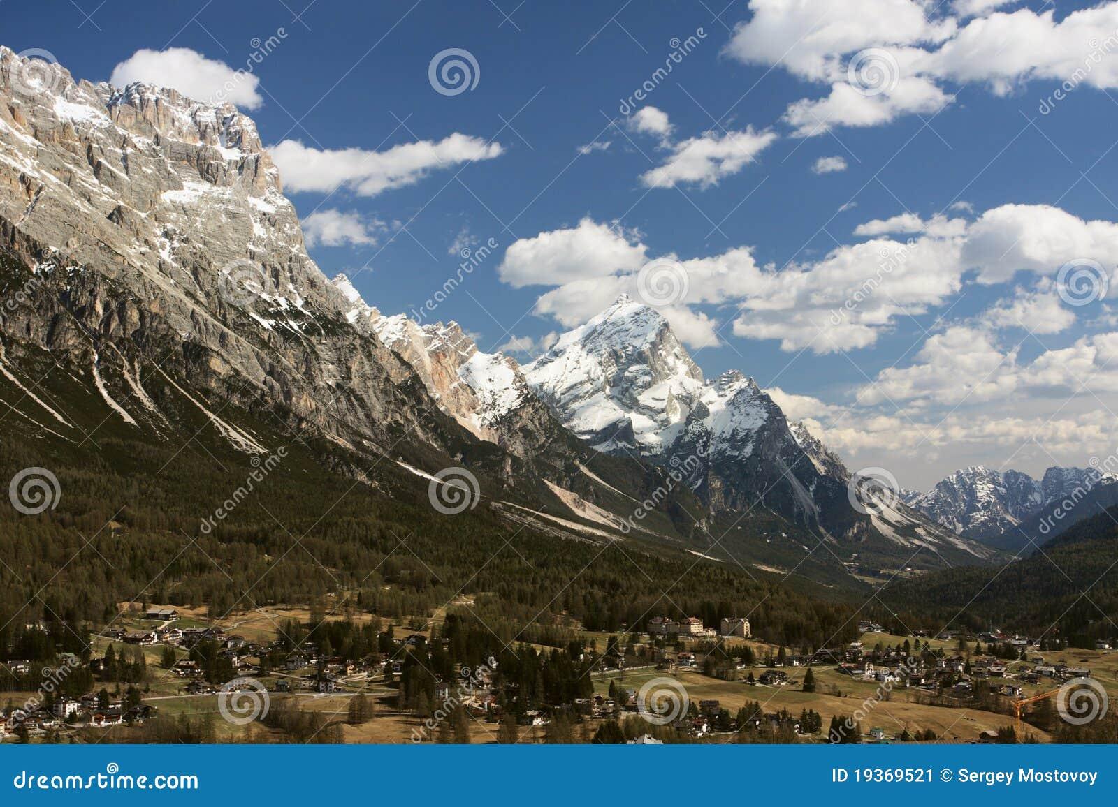 Aldeia da montanha