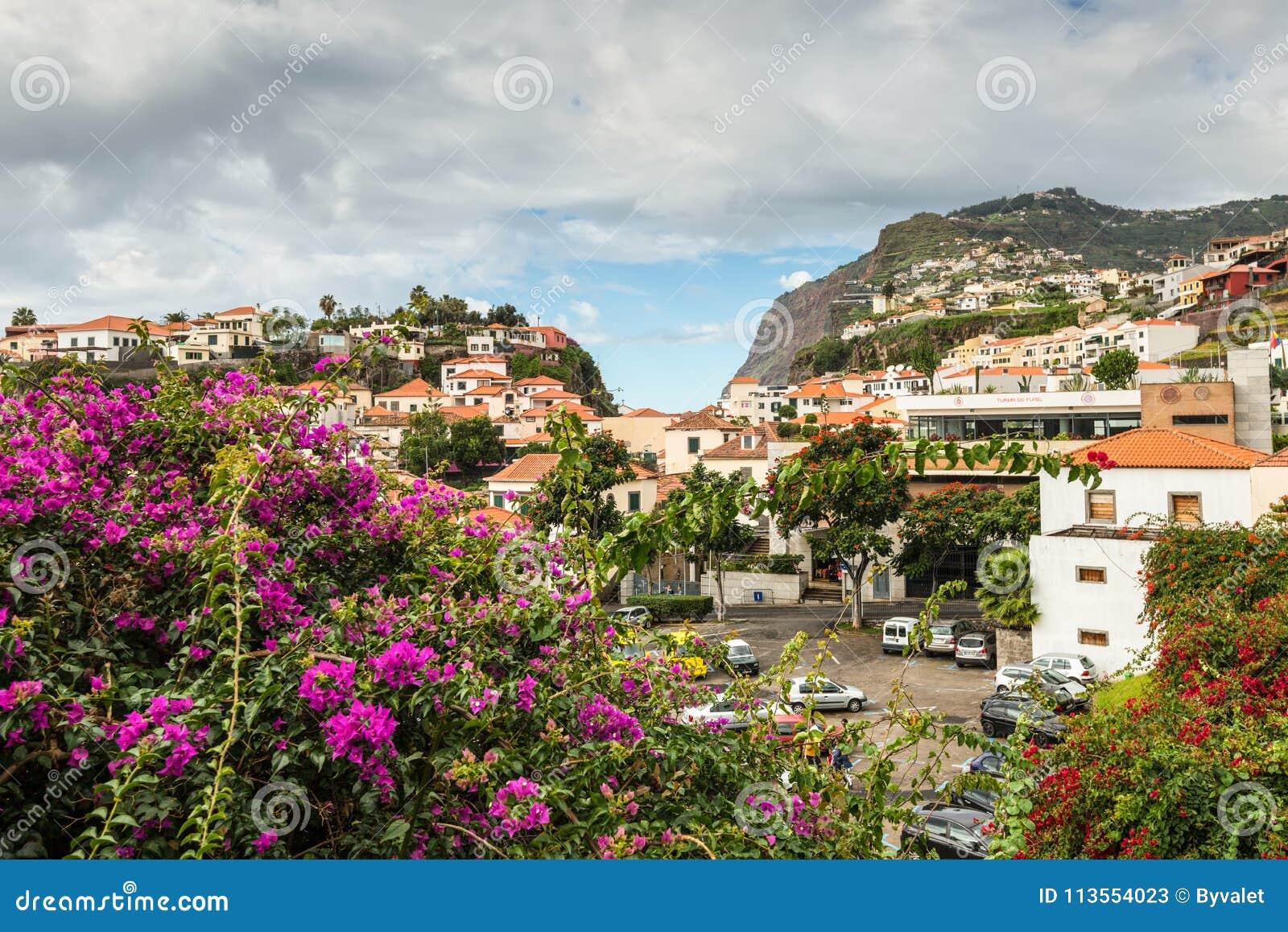 Aldeia piscatória Camara de Lobos, Madeira, Portugal