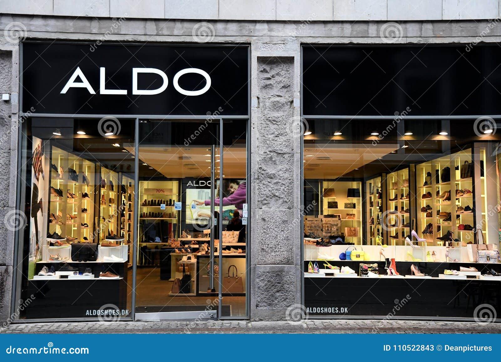 e4afc7462f4 Copenhagen /Denmark / 17. February.2018_ . Aldo shoe shop . Photo.Francis  Joseph Dean / Deanpictures.