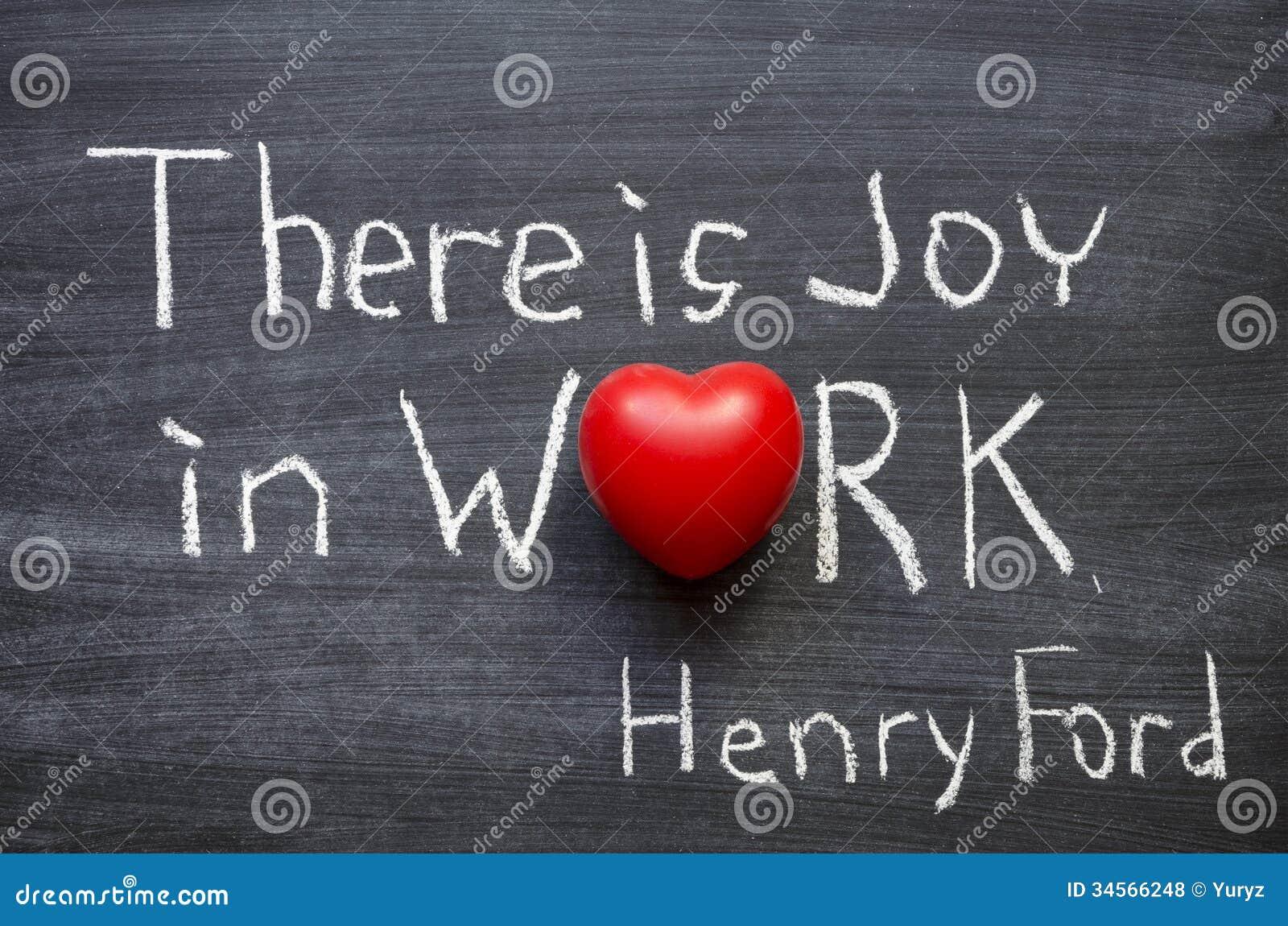 Alegría en trabajo