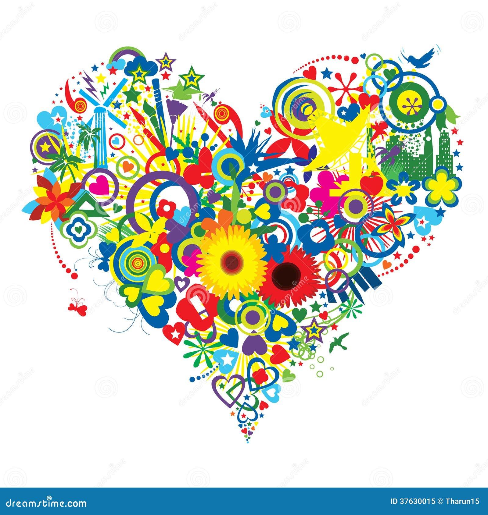 Alegria e amor abundantes