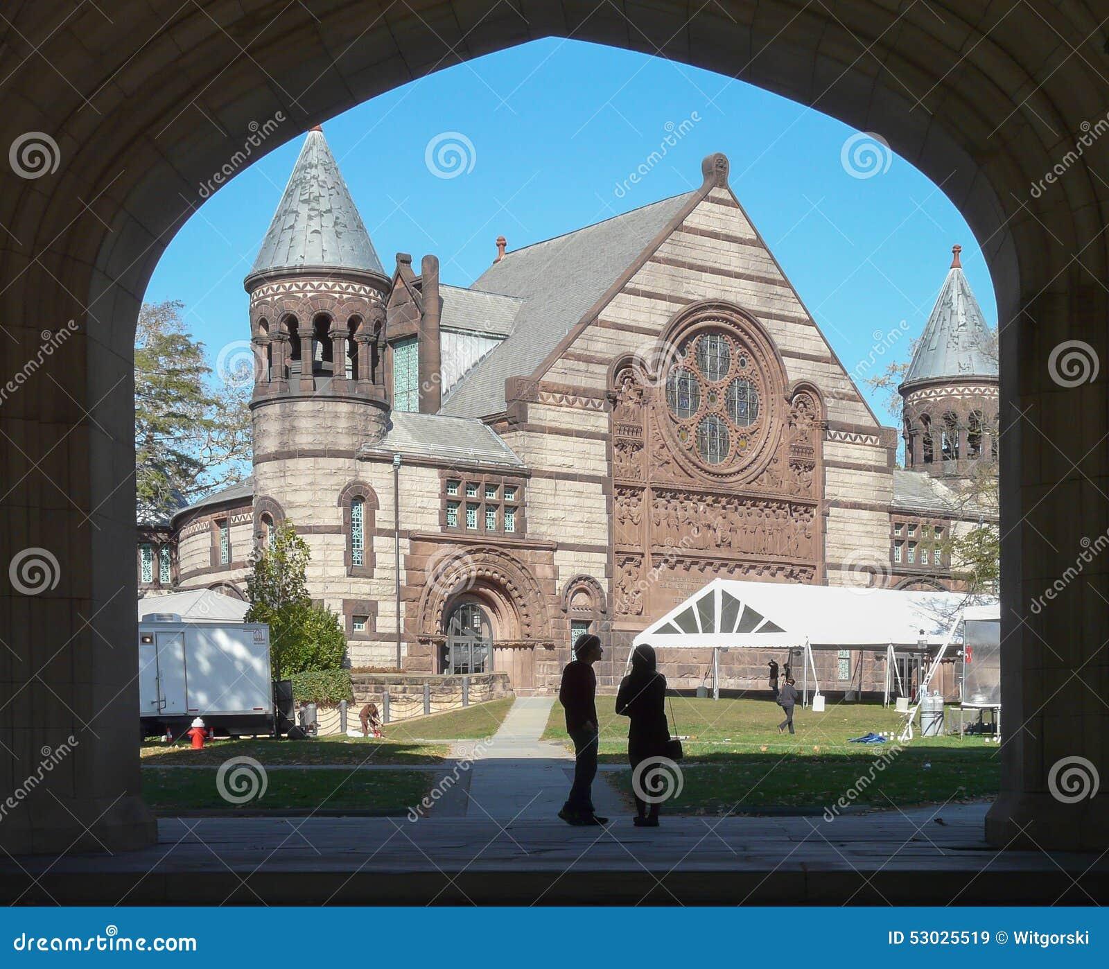 Aleksander Hall przy uniwersytet princeton