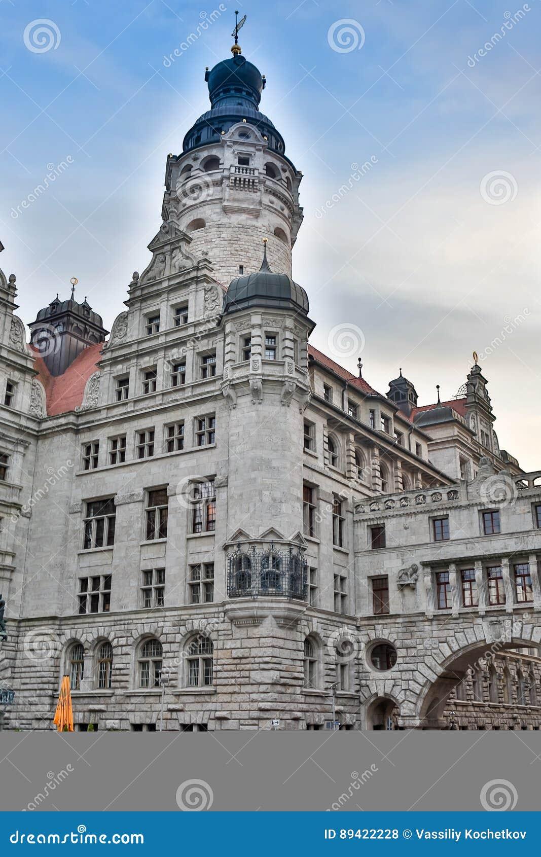 ALEMANHA, DRESDEN - 10 DE OUTUBRO DE 2016: Centro de Histoirical da cidade velha de Dresden Dresden tem uma longa história como