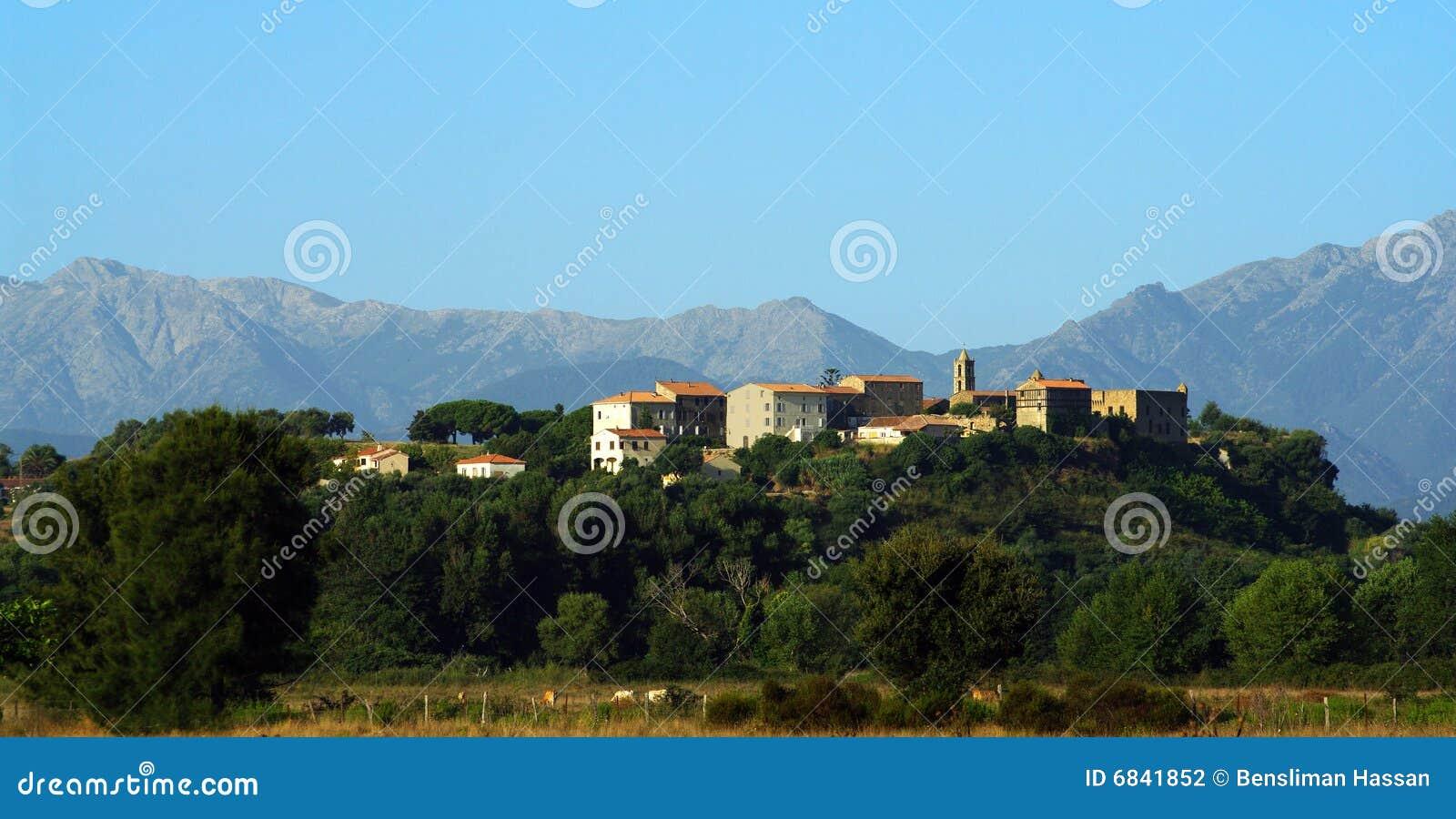 Aleria可西嘉岛村庄