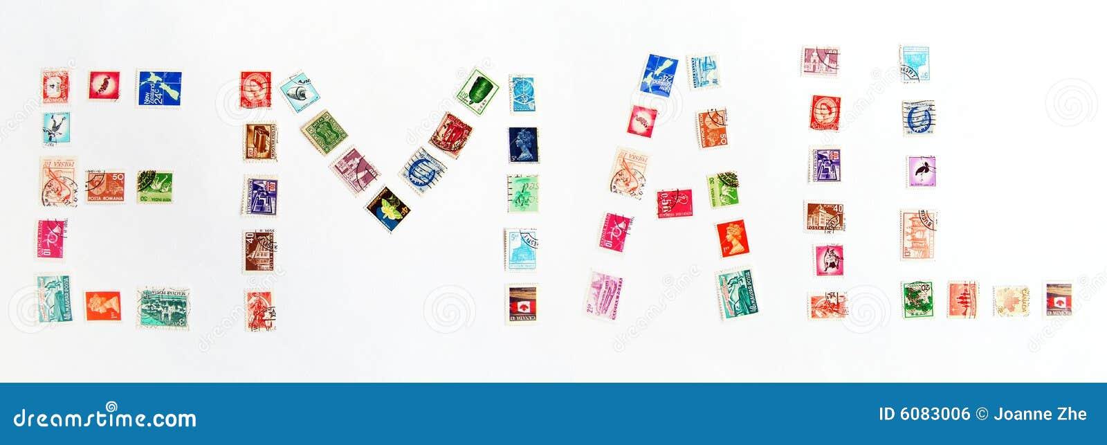 Alerta do email com selos