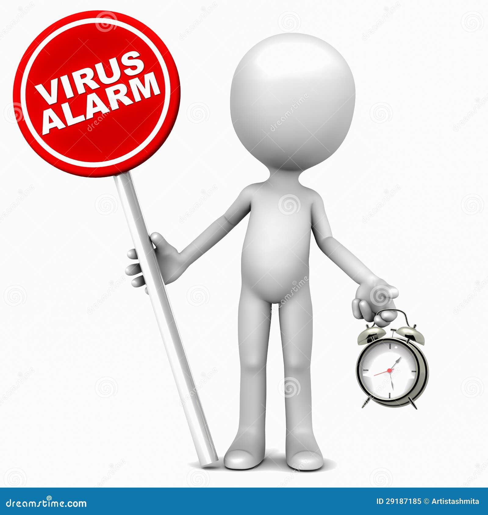 Alerta do vírus
