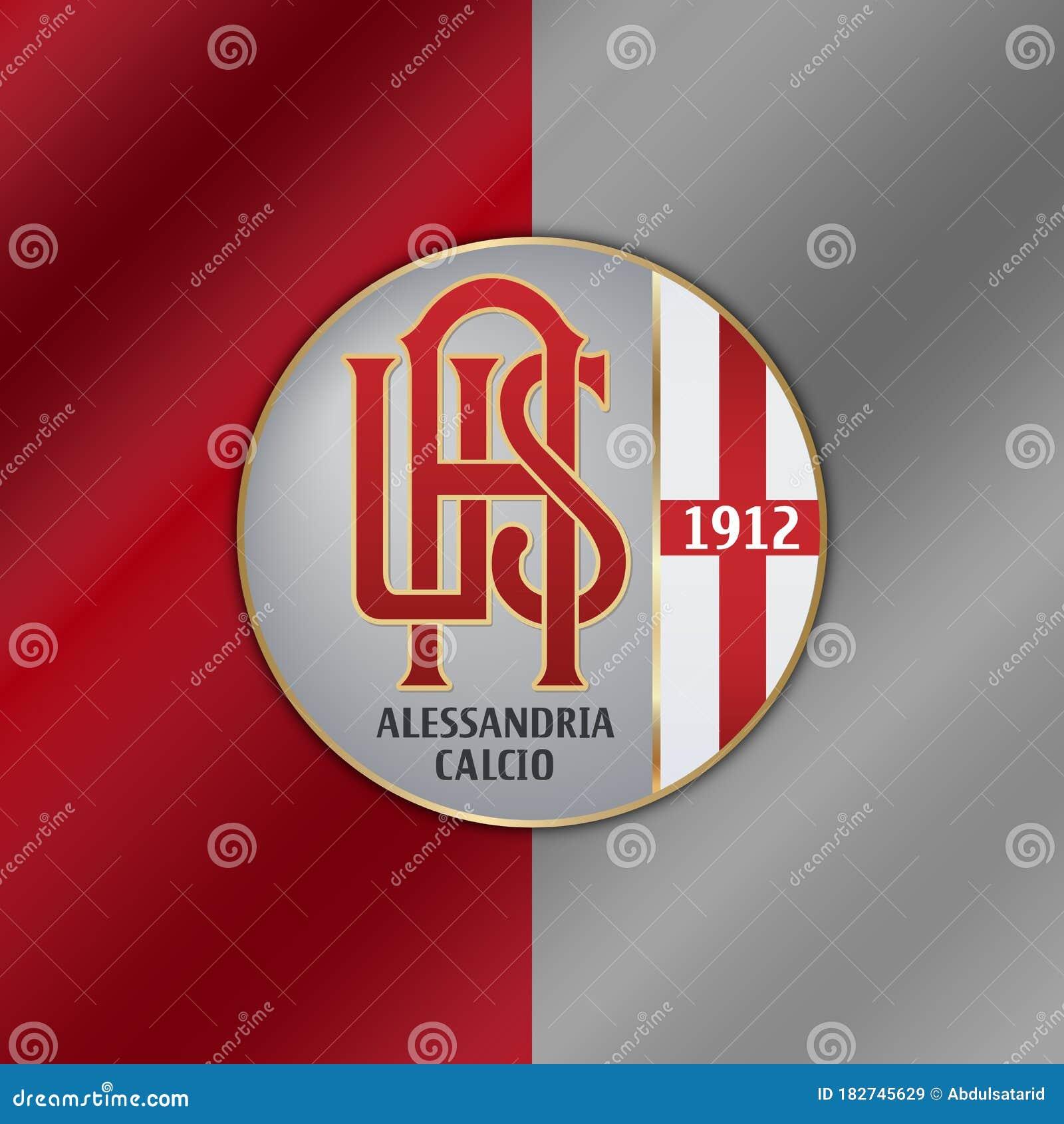 Alessandria Calcio emblem editorial stock image. Illustration of emblem -  182745629