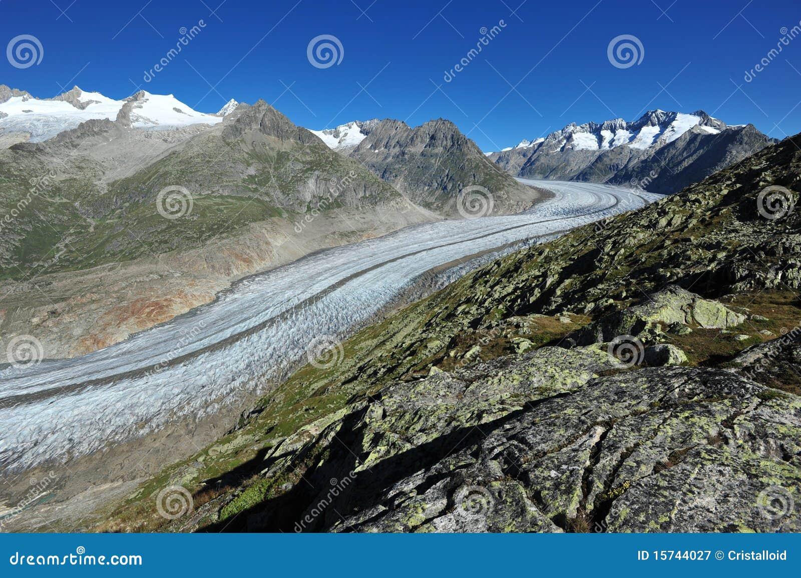 Aletsch冰川