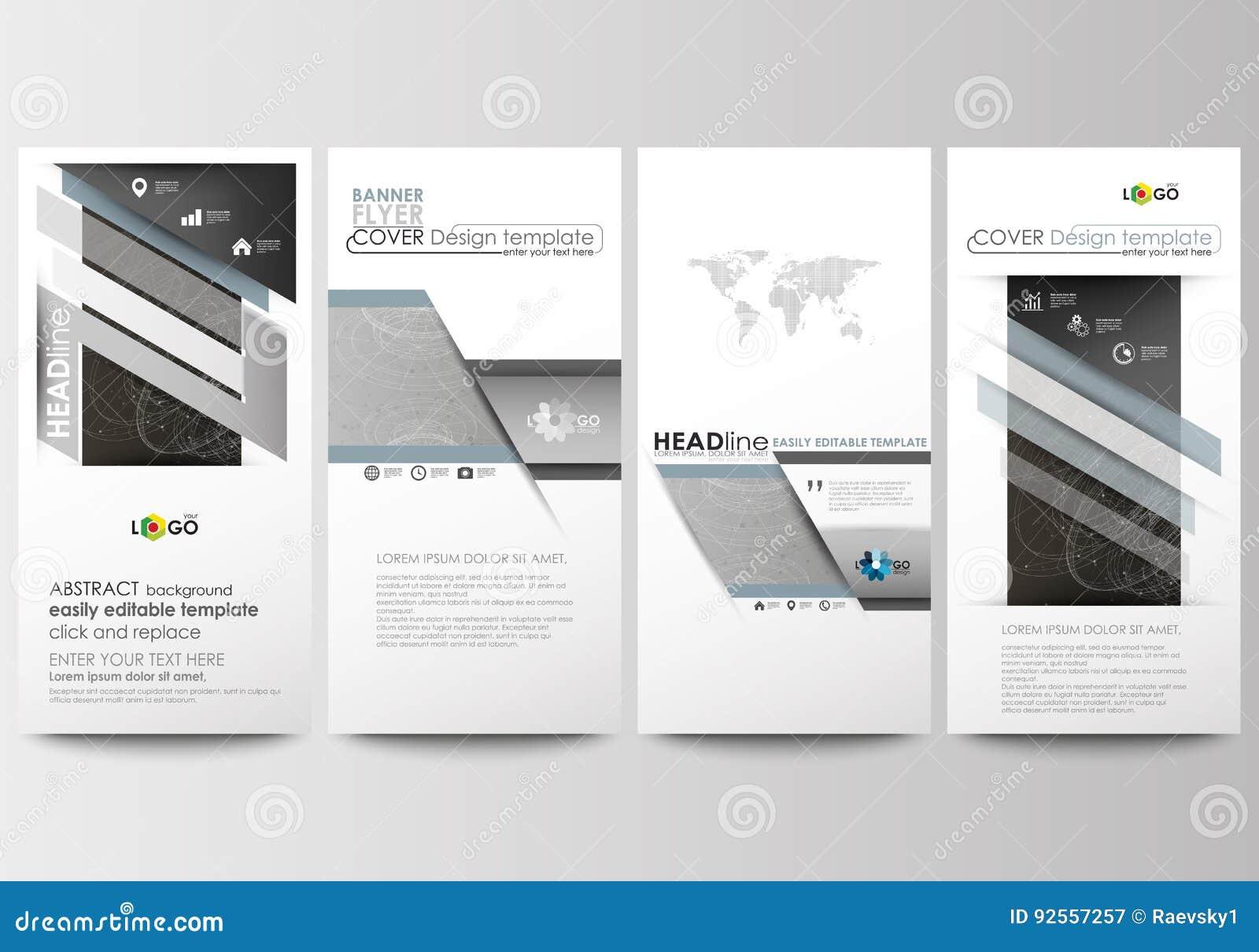 Alette di filatoio messe, insegne moderne Modelli di affari Riguardi il modello di progettazione, disposizioni editabili e piane