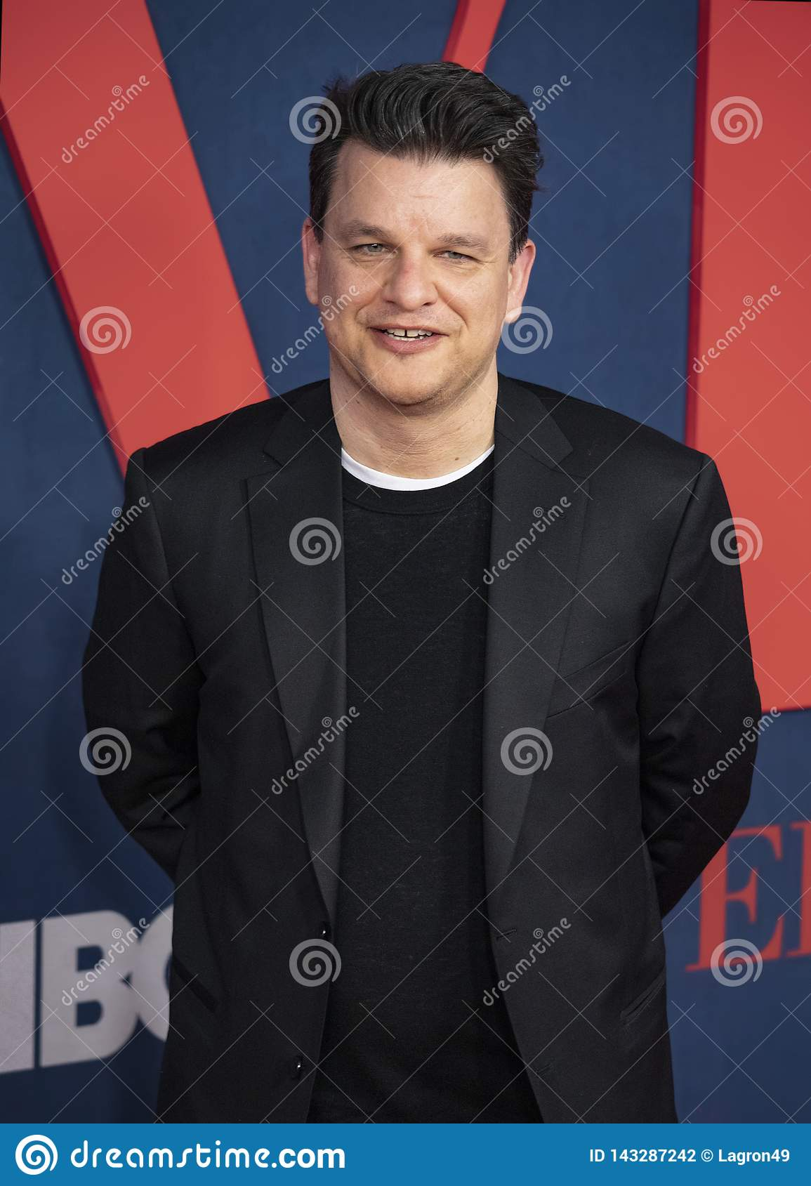 Alex Gregory At The Premiere Of Final Season Of VEEP