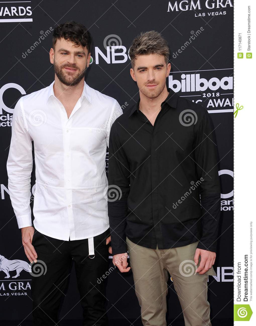 Alex Pall e Andrew Taggart dos Chainsmokers