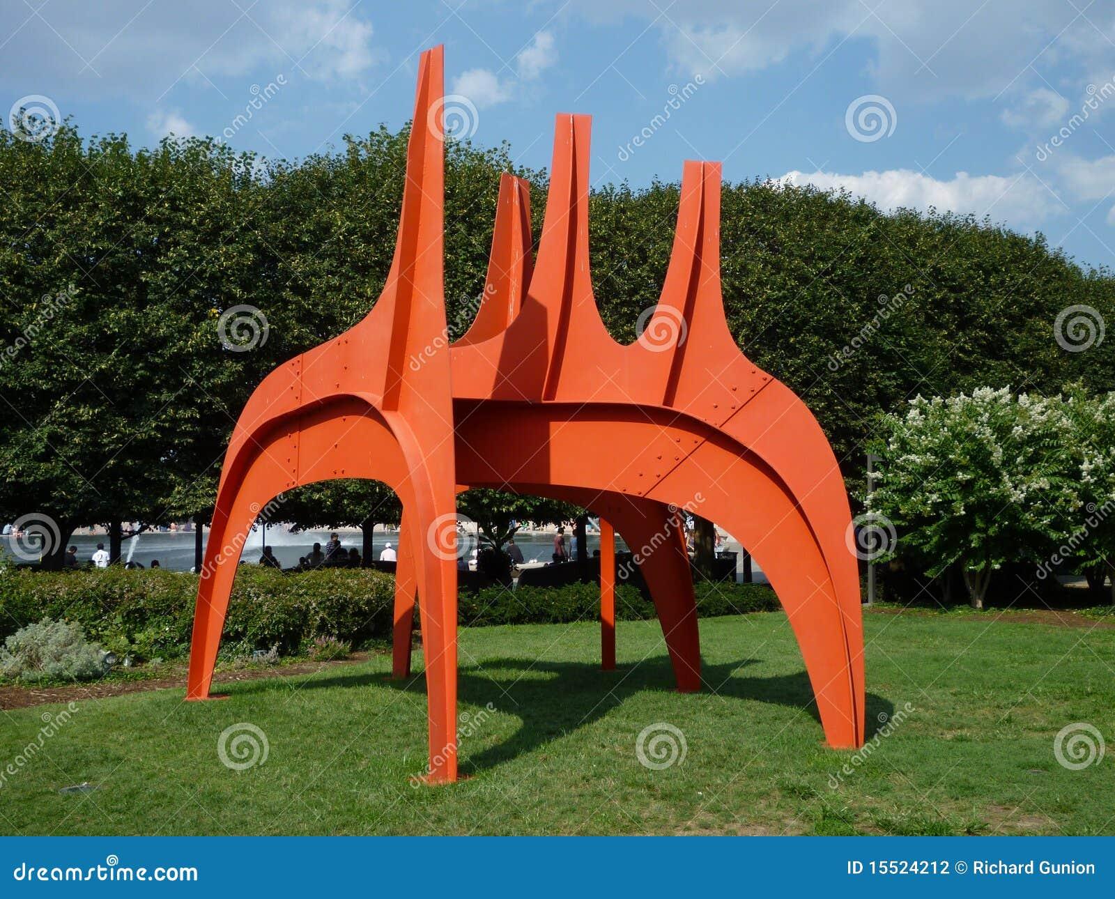 Alexander Calder Sculpture Editorial Photography Image
