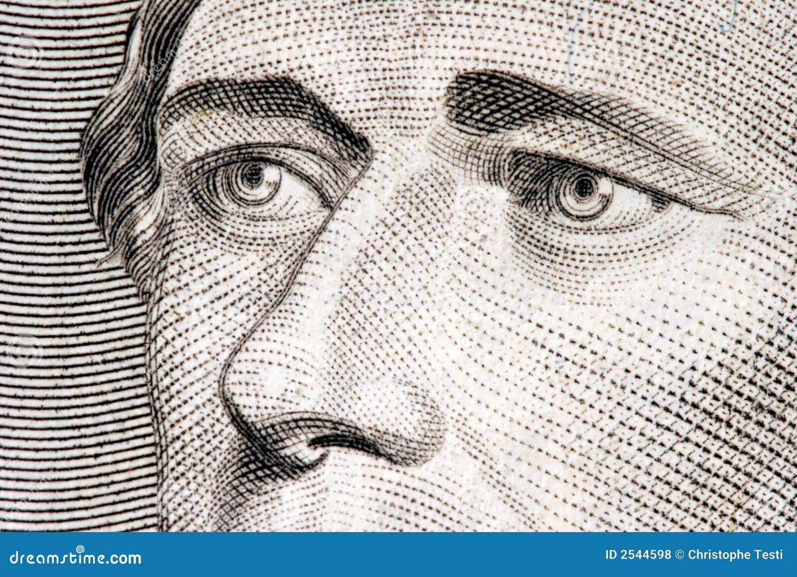 Alexander Hamilton close up
