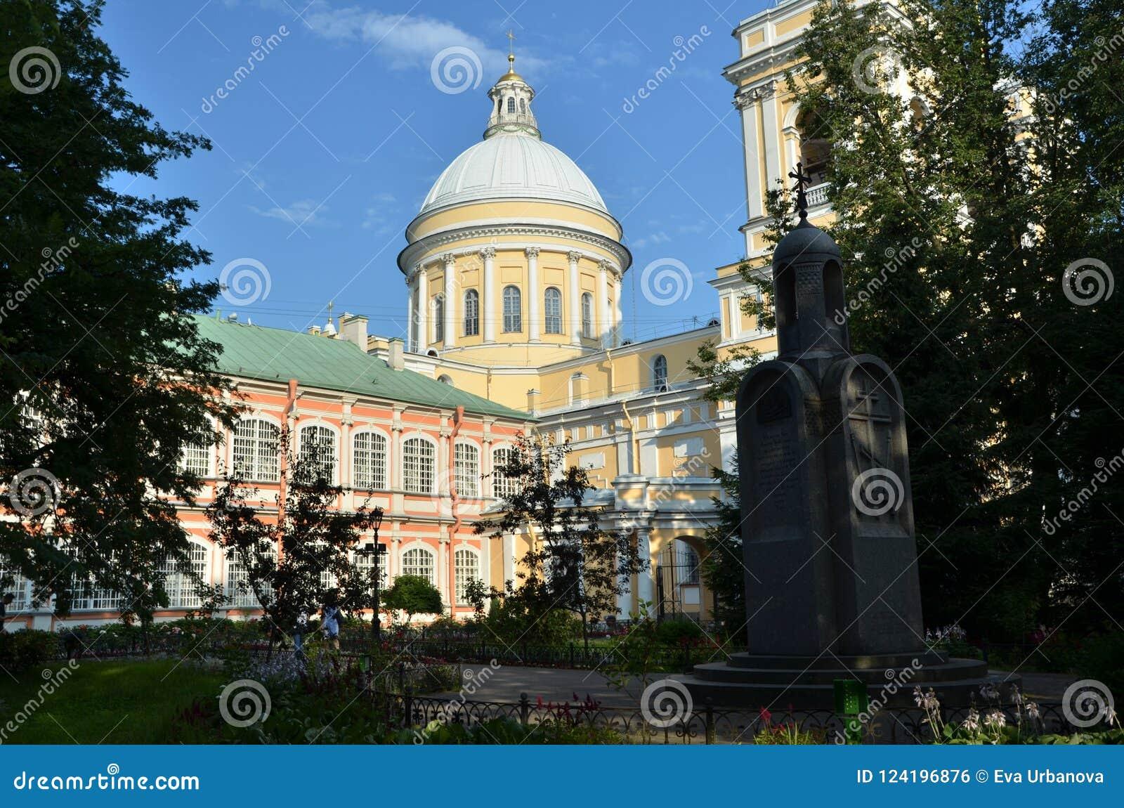 Alexander Nevsky Monastery en St Petersburg