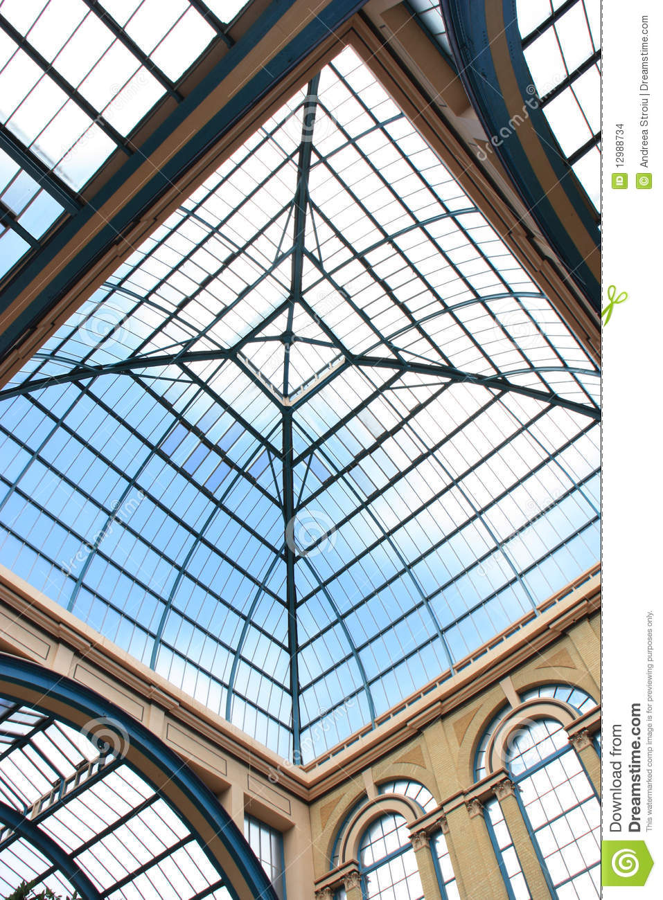 Alexandra Palace Glass Ceiling Stock Images Image 12988734