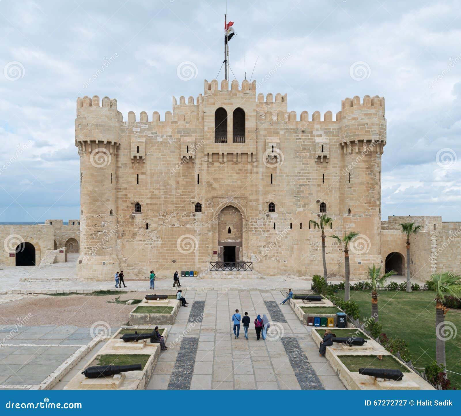 Alexandria Egypt December 3 2015 Qaitbay Castle