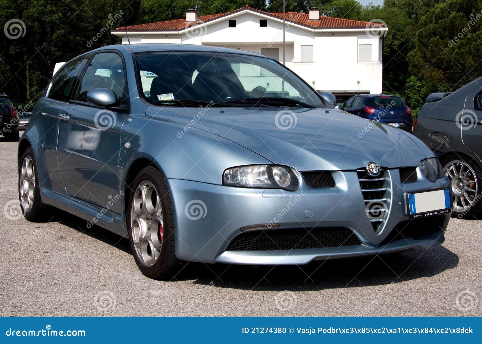 Alfa Romeo 147 Gta Imagem Editorial Imagem De Romeo 21274380
