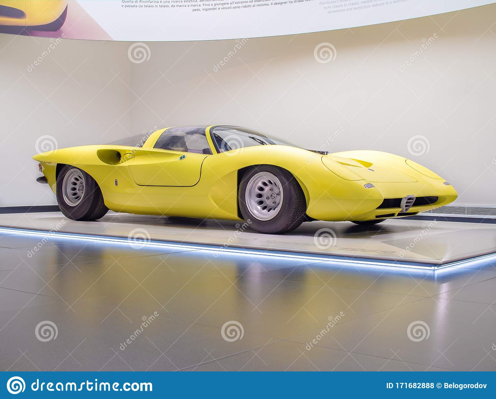 1969 Alfa Romeo 33 2 Coupe Speciale Editorial Stock Photo Image Of Historical Classic 171682888