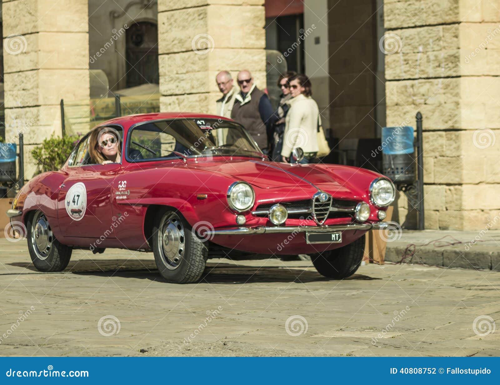 Vintage Alfa Romeo >> Alfa Romeo Giulia Coupe Classic Editorial Photography