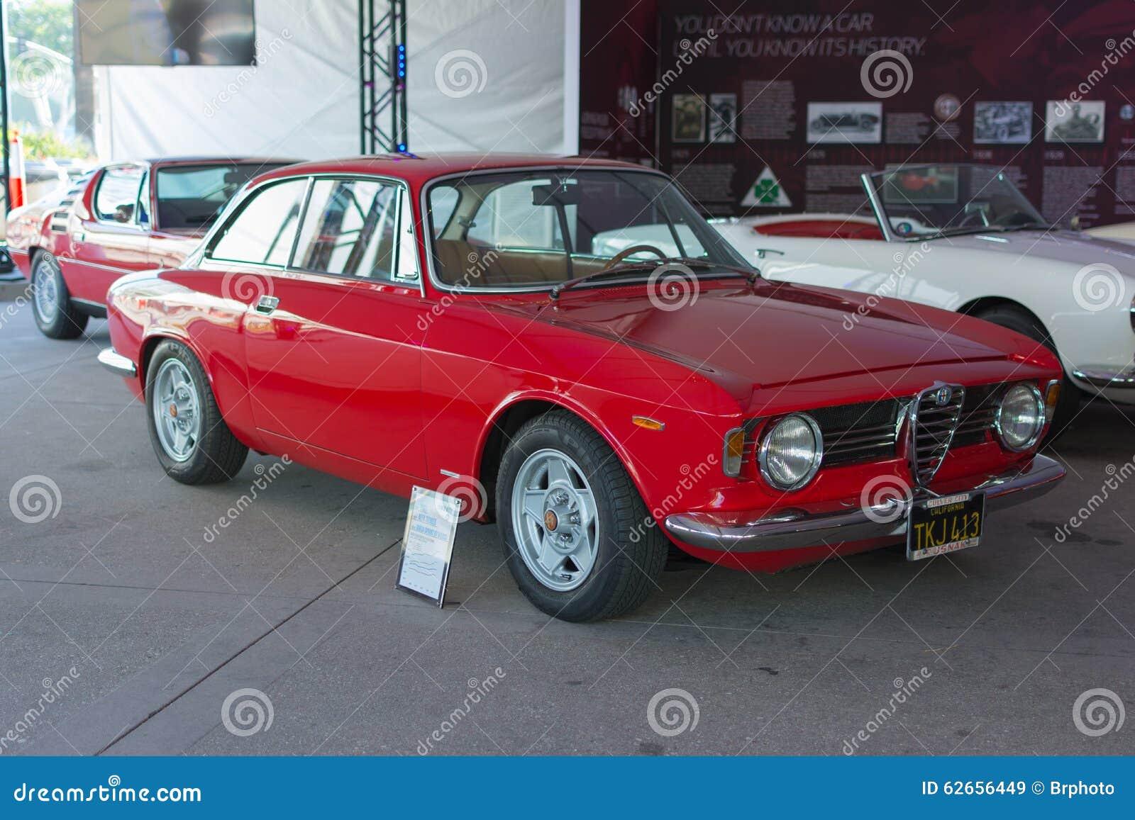 Alfa Romeo Giulia Sprint GT Veloce Editorial Stock Image