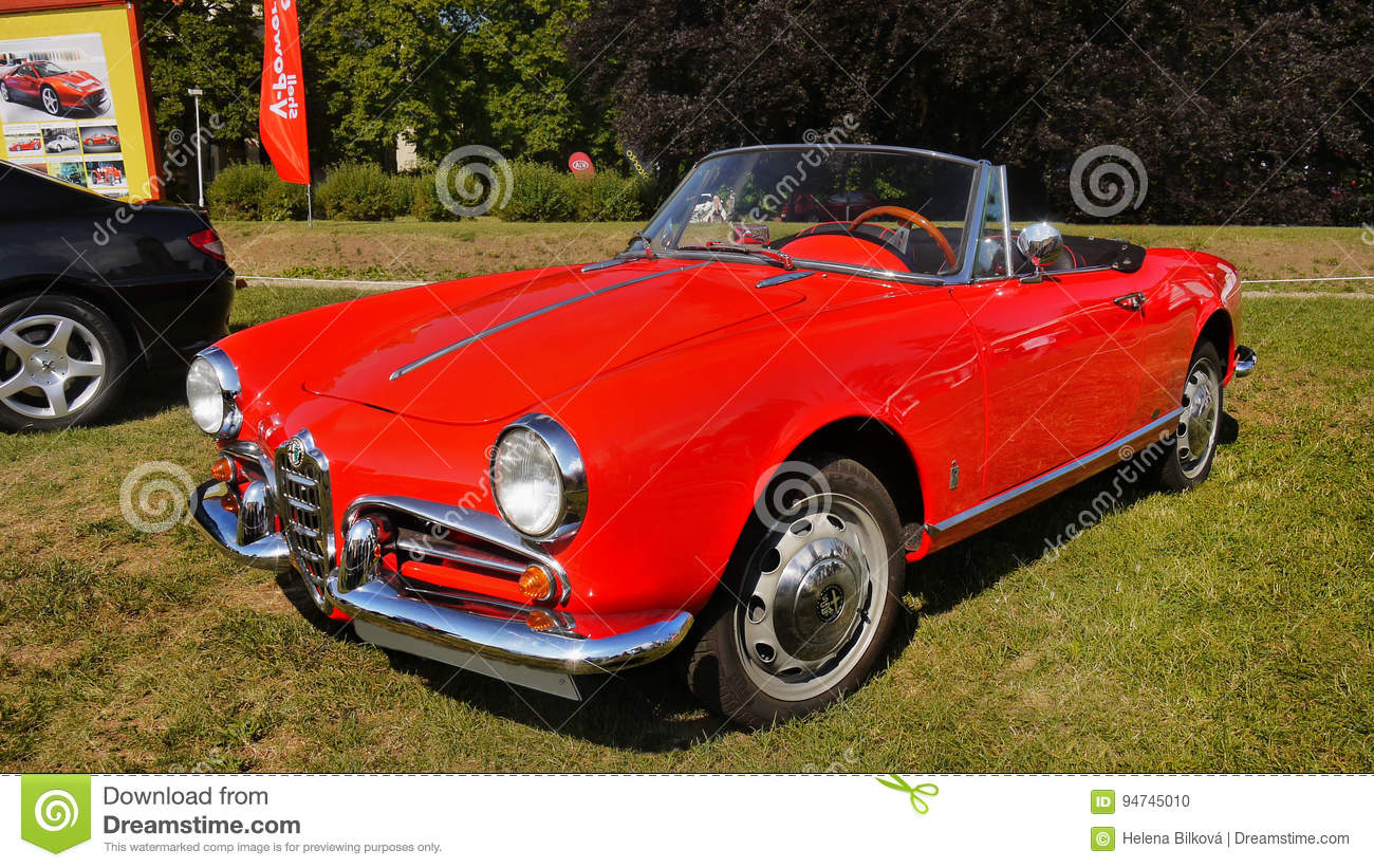 Good Download Alfa Romeo Giulieta Spider, Sport Cars Editorial Image   Image Of  Show, Spider