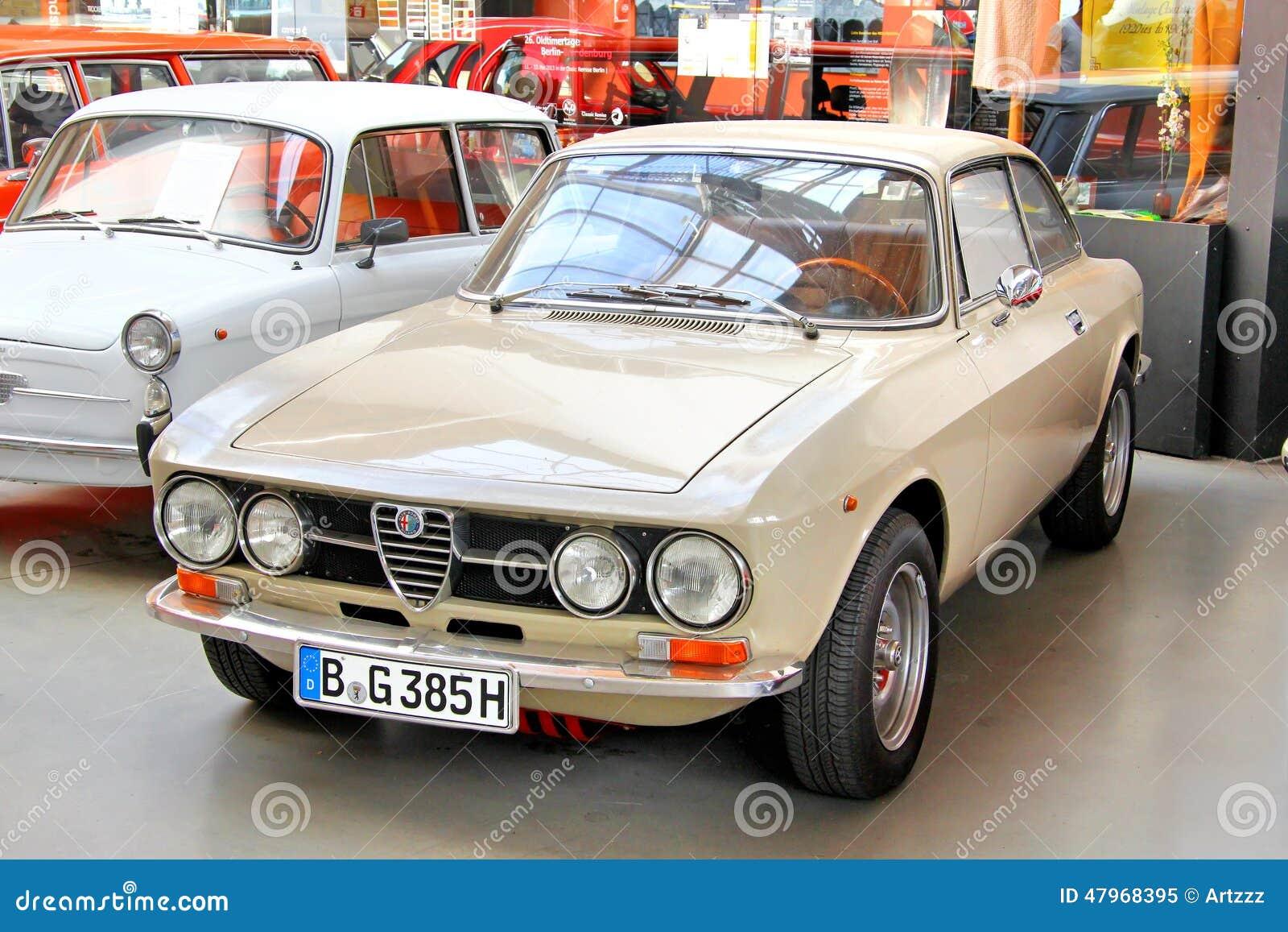 Alfa Romeo 1750 GT Veloce editorial image. Image of