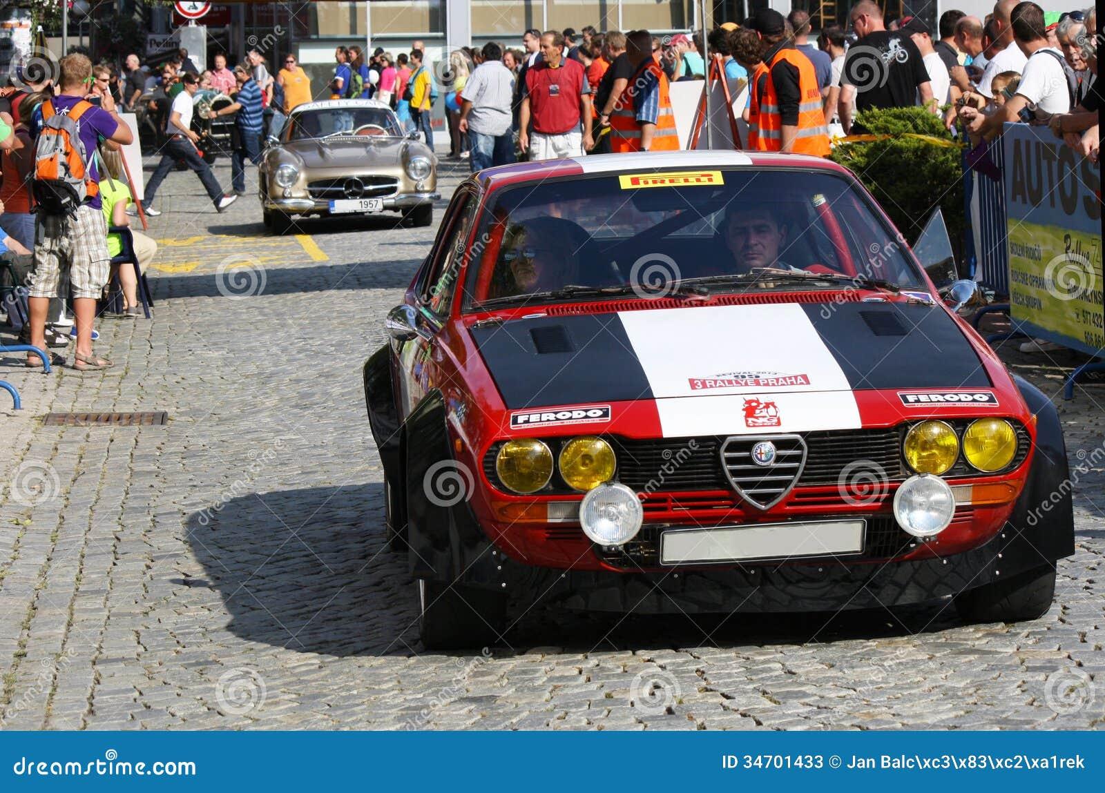 Rally Motor Credit >> Alfa Romeo GTV6 Editorial Stock Photo - Image: 34701433