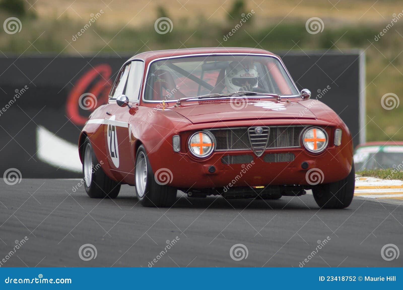 Classic Alfa Romeo Race Car Editorial Image Image