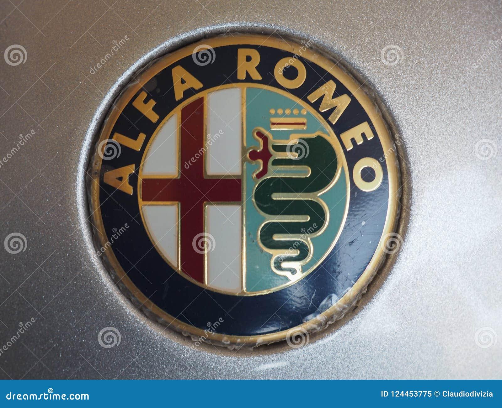 Alfa Romeo Logo In Turin Editorial Image Of 2018 124453775 Symbol