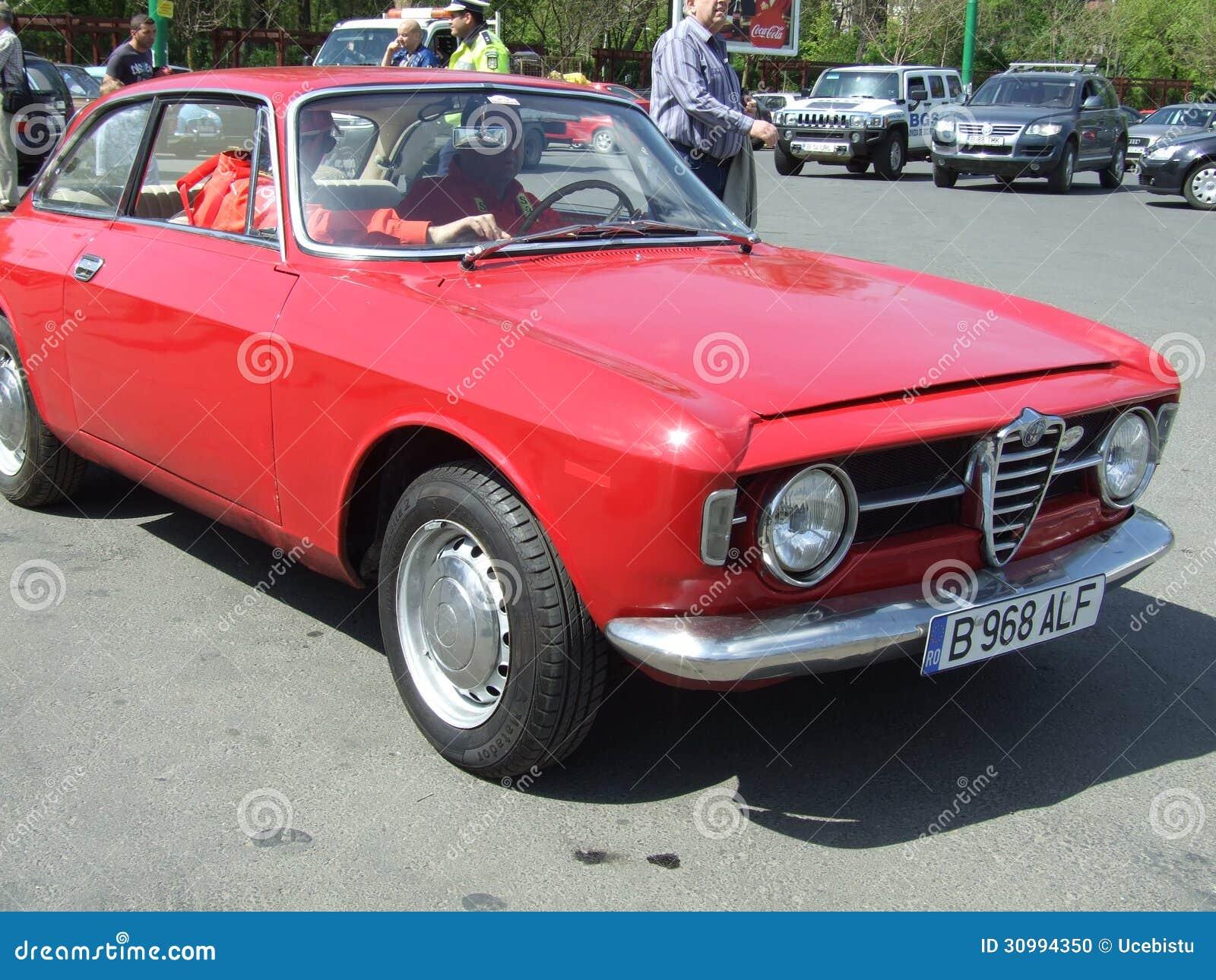 ALFA ROMEO rouge