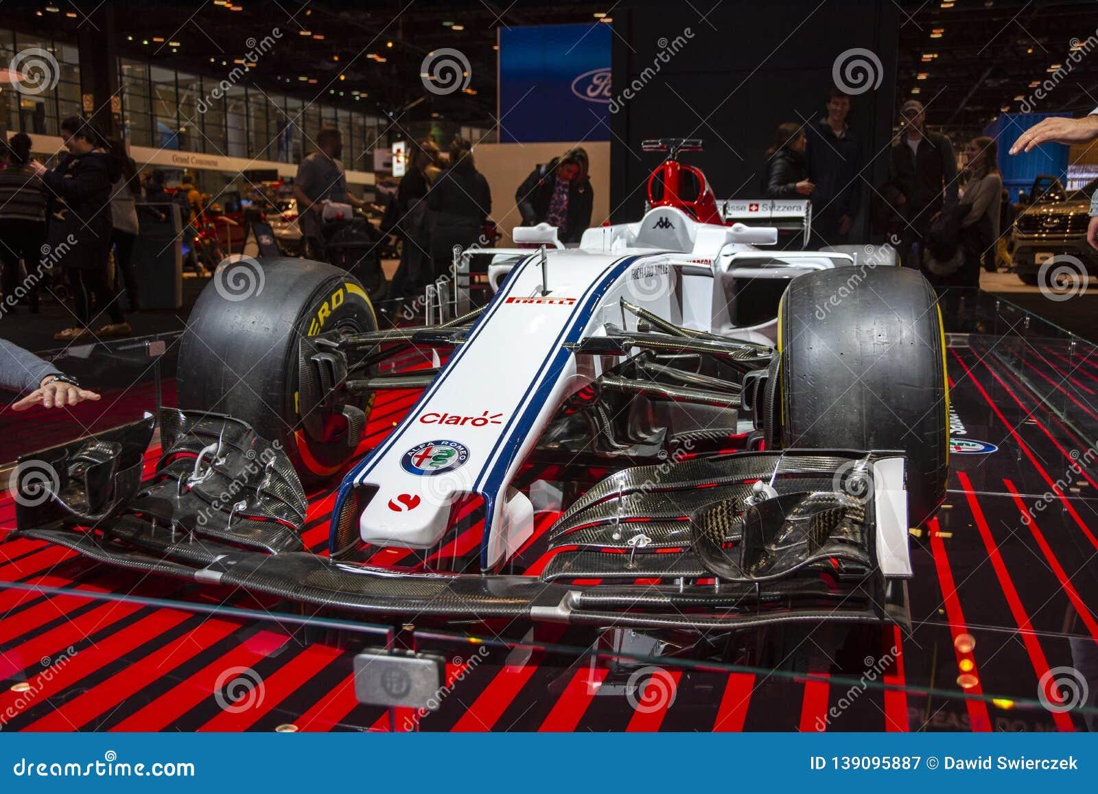 Alfa Romeo Sauber Formula 1 coche