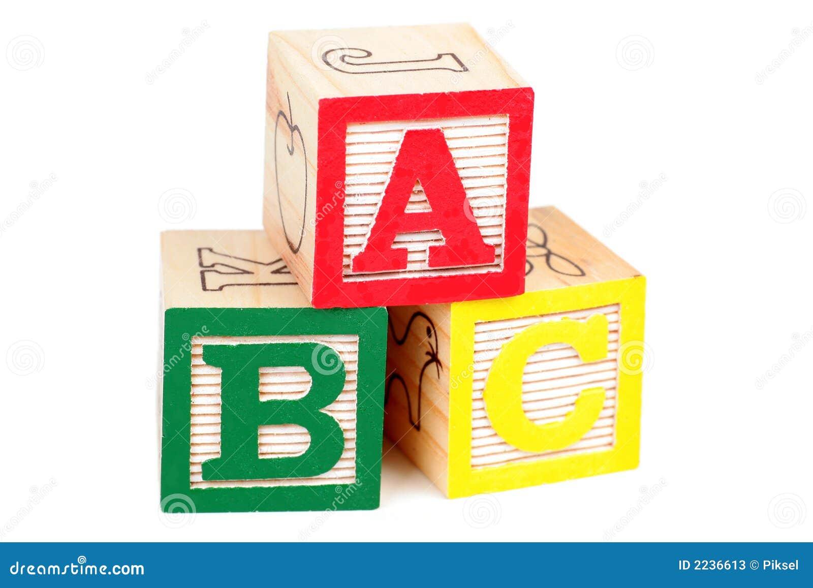 Alfabet bloków