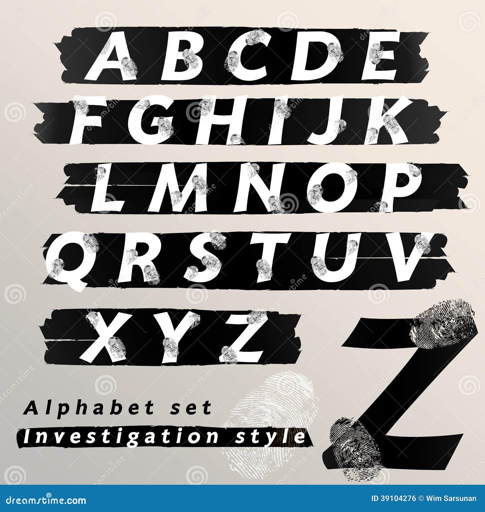 Alfabet vastgesteld ontwerp