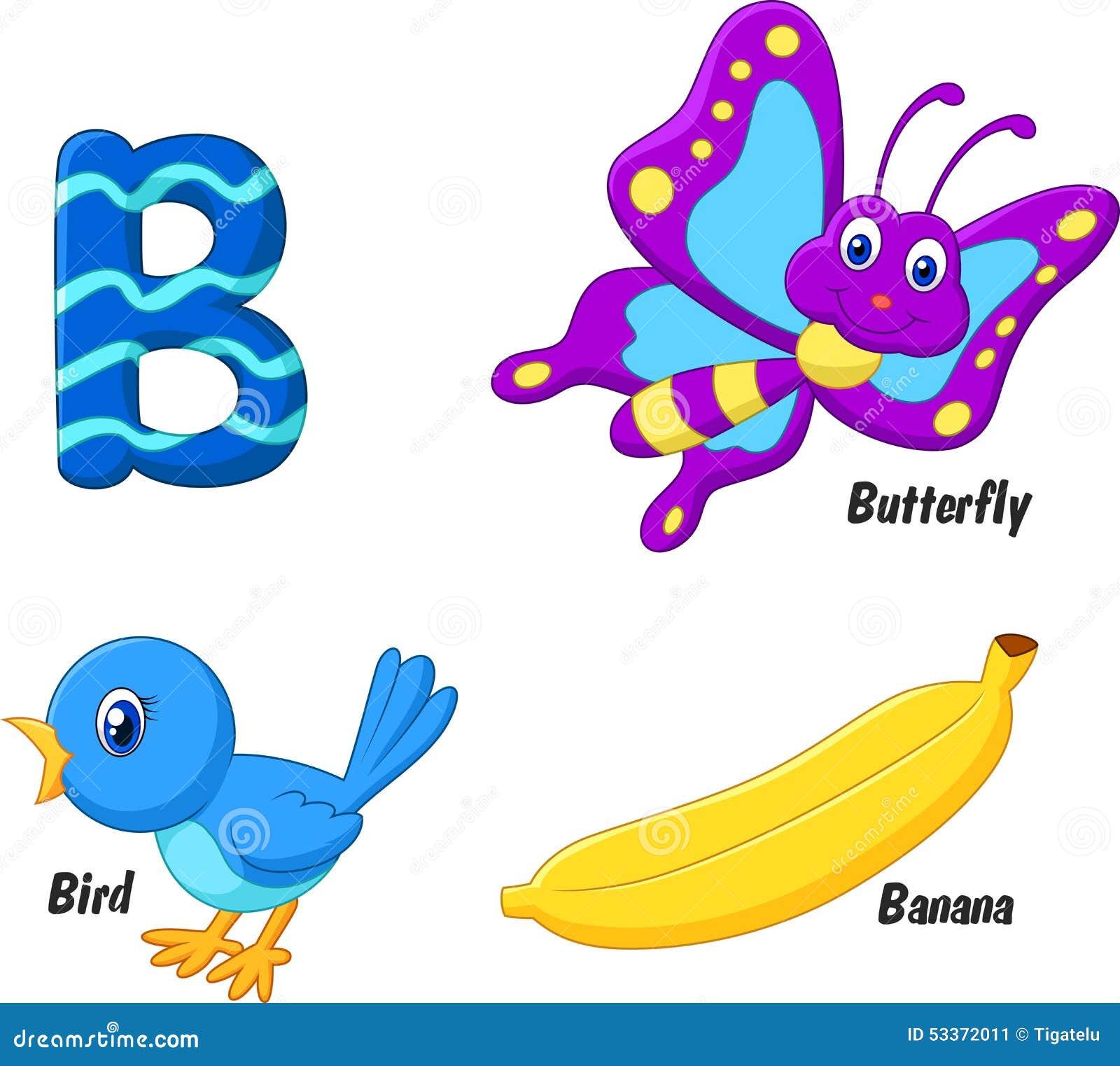 Alfabeto de la historieta B