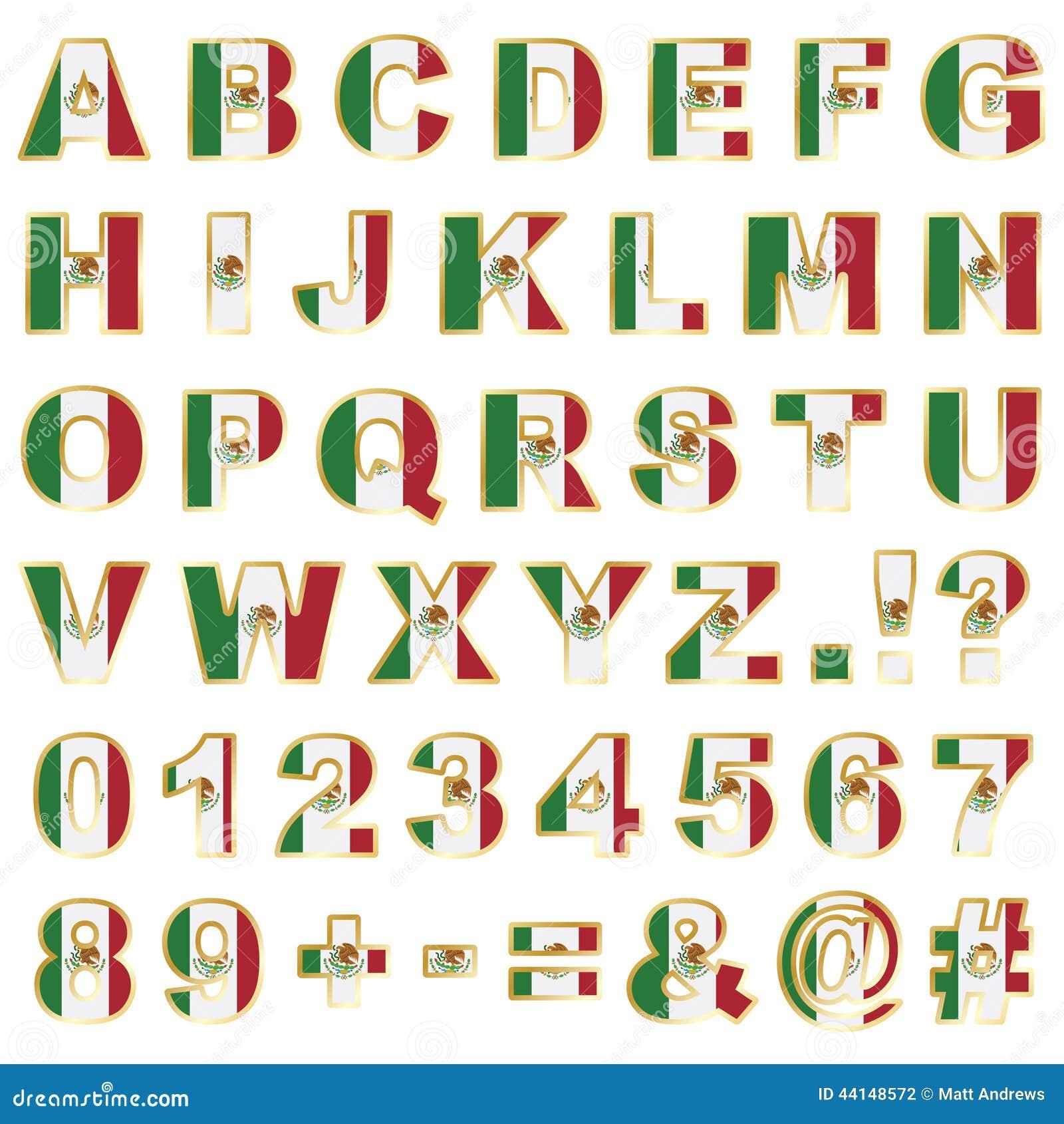 Alphabet Letters Vides