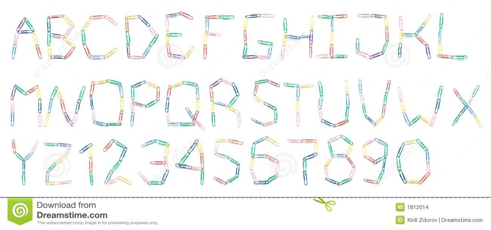 Alfabeto de paperclips