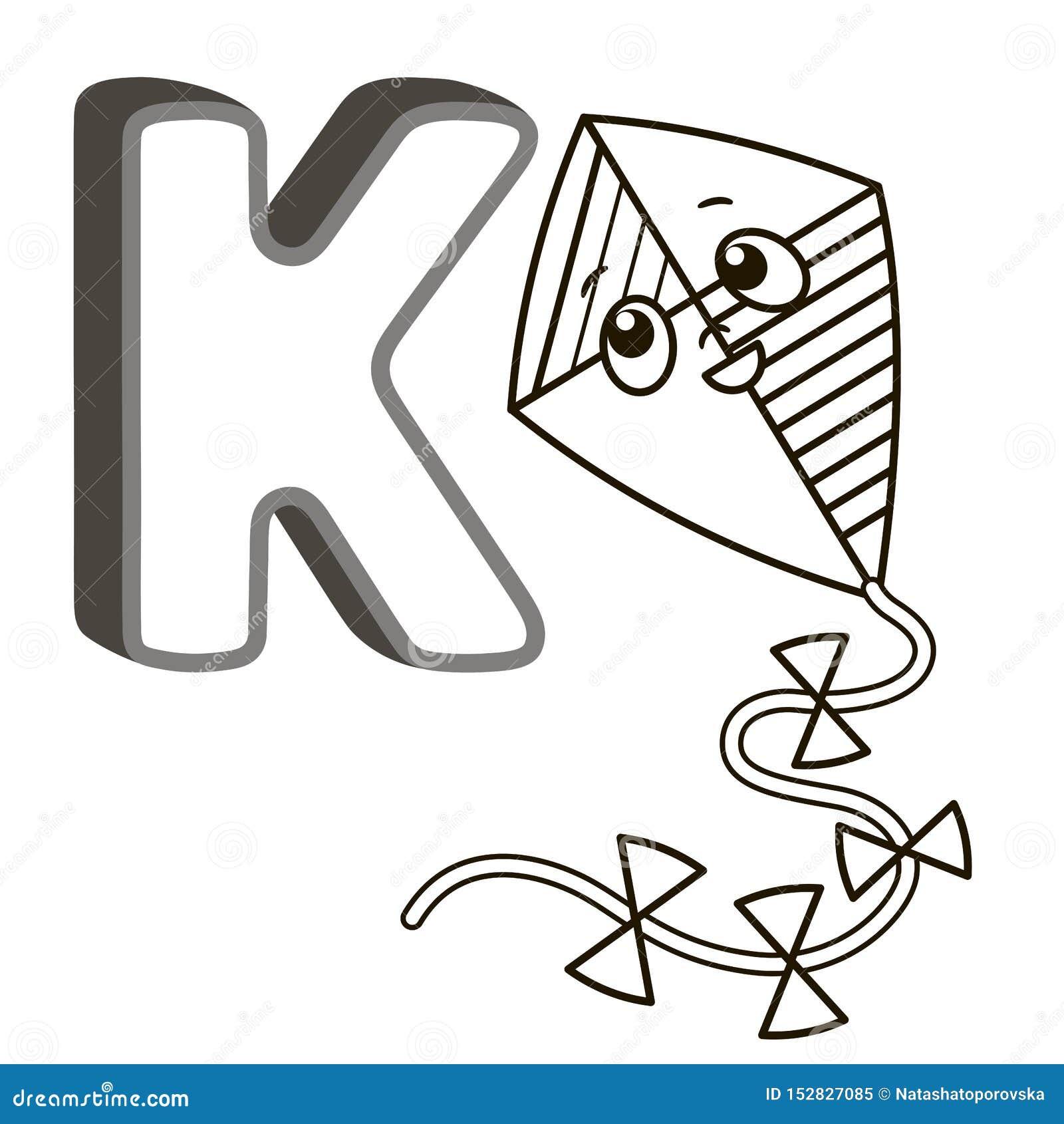 Alfabeto Del Libro Da Colorare Di Vettore Con Le Lettere Maiuscole Degli Animali E Delle Cose Inglesi E Svegli Del Fumetto Pagina Illustrazione Vettoriale Illustrazione Di Animali Divertimento 152827085