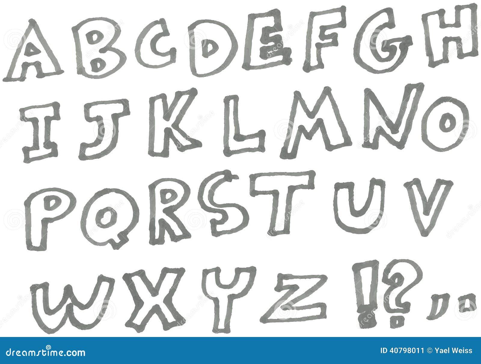 Alfabeto dell indicatore