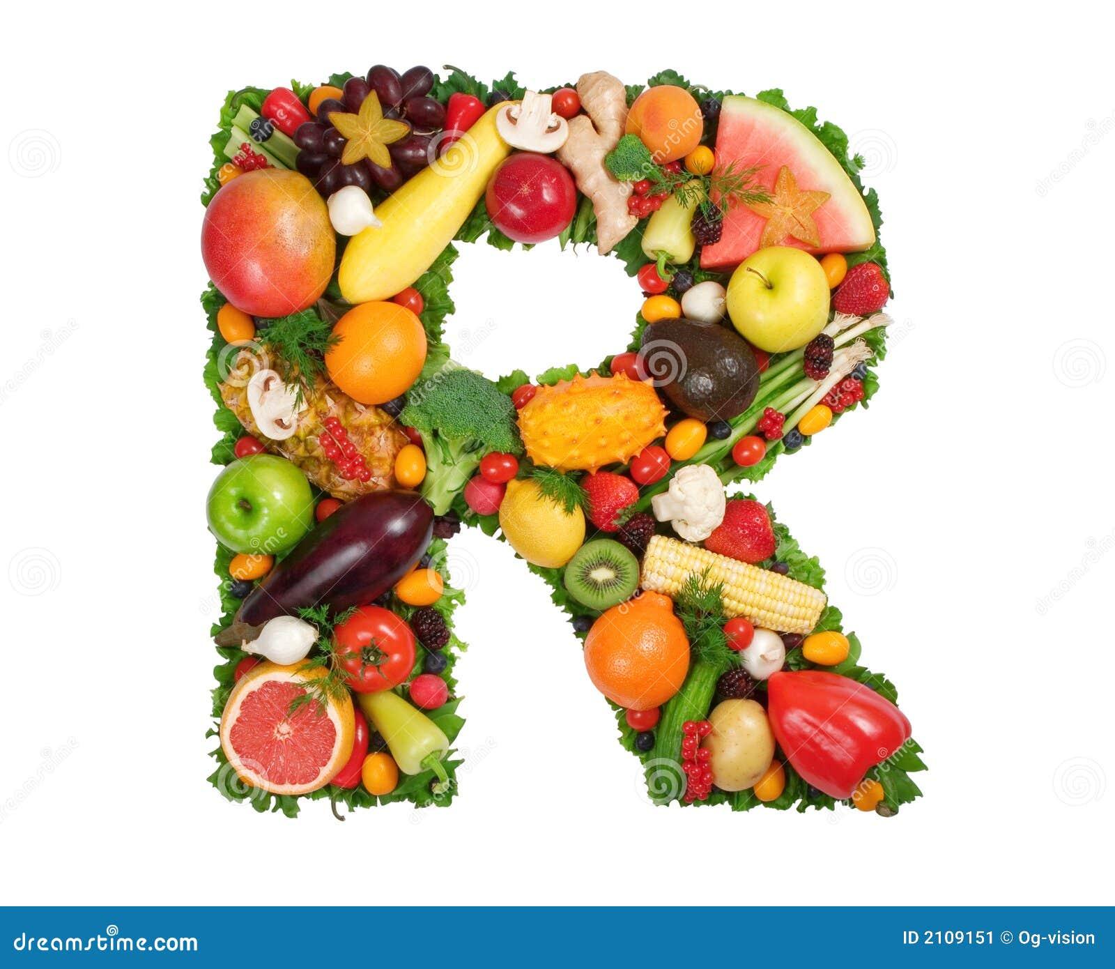 Alfabeto di salute - R